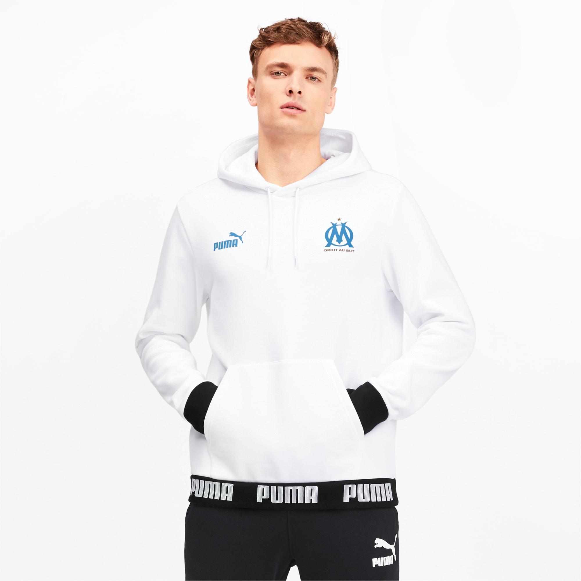 PUMA Mens Olympique de Marseille FTBL Culture Hoody