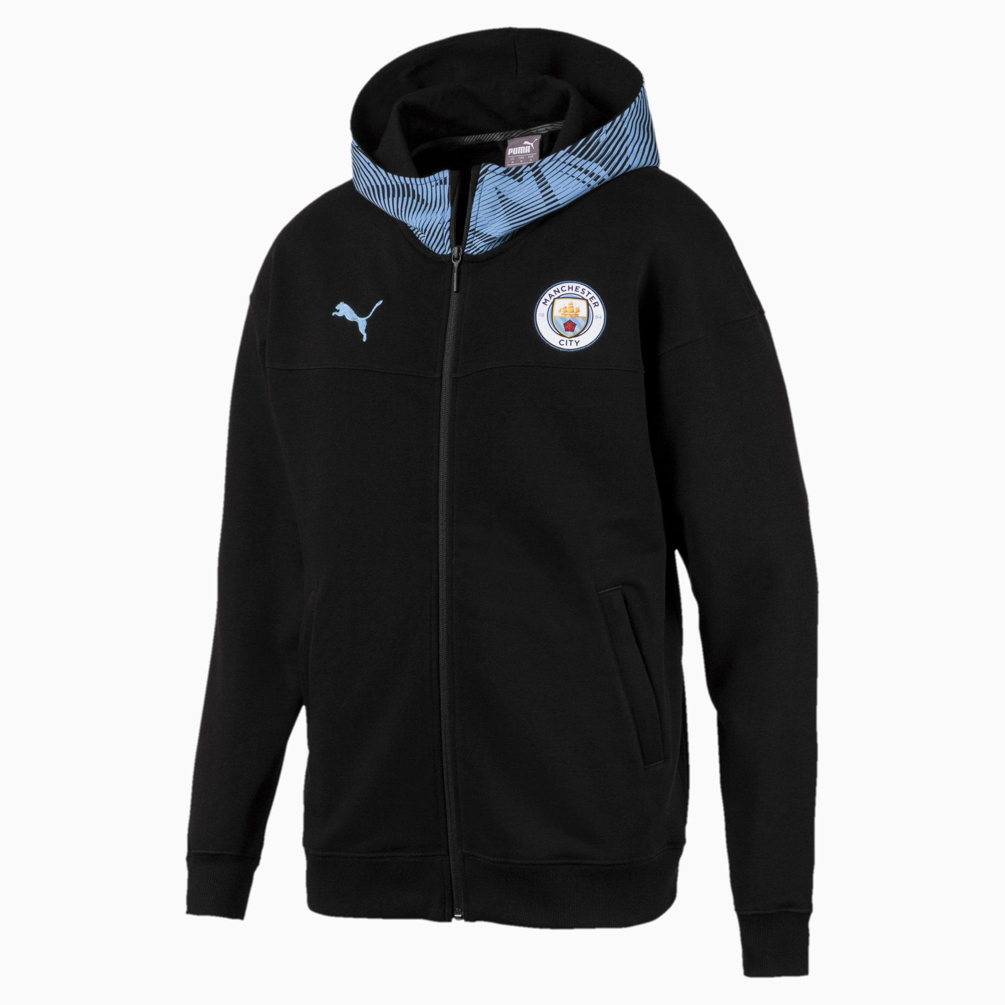 Man City Casuals Men's Zip-Thru Hoodie | PUMA Manchester City
