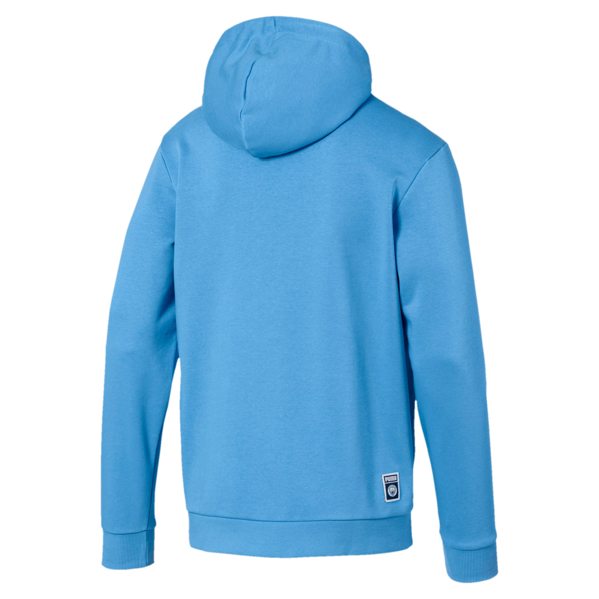 Thumbnail 2 of Manchester City Herren Shoe Tag Hoodie, Team Light Blue-Puma White, medium