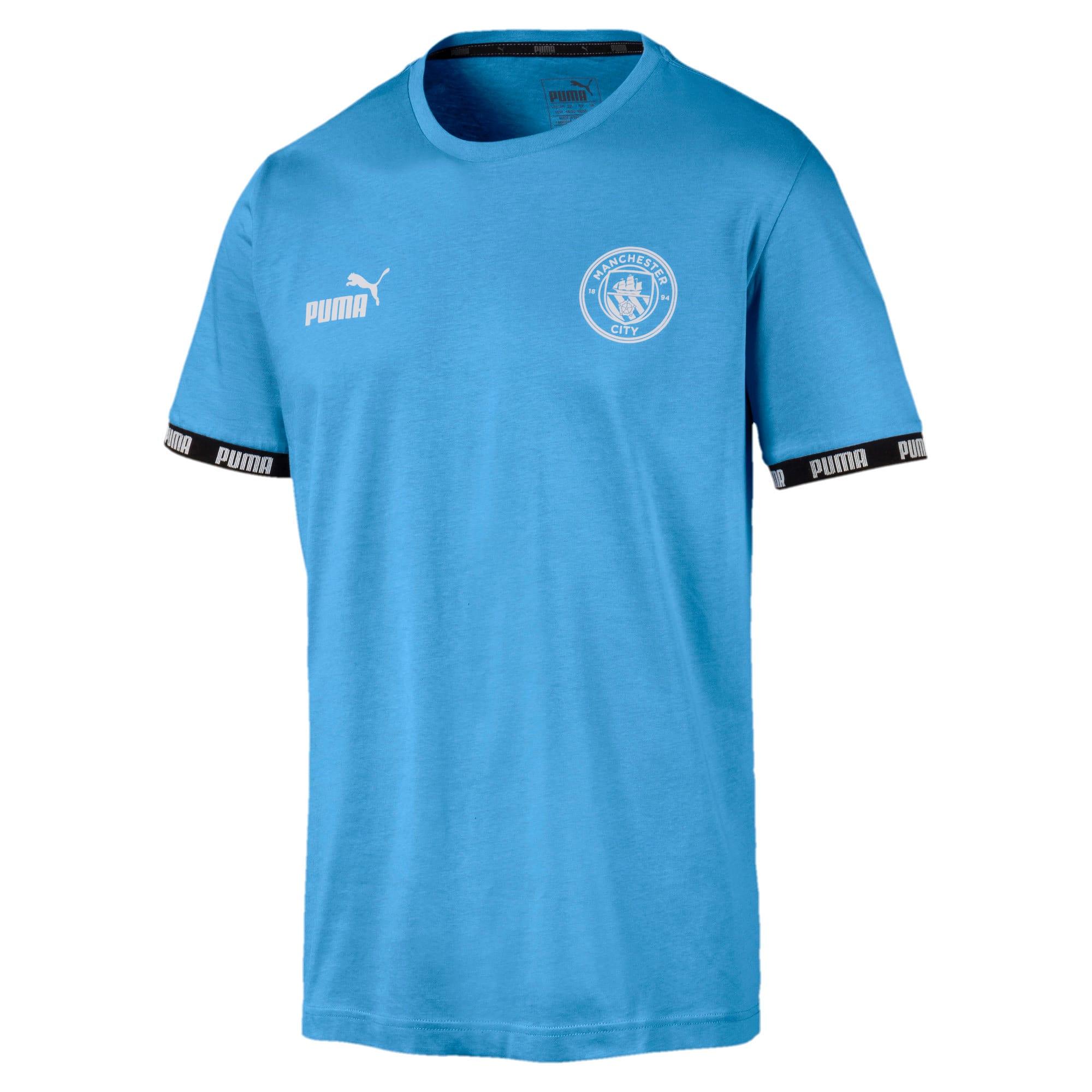 Thumbnail 1 of Man City Men's Football Culture Tee, Team Light Blue, medium