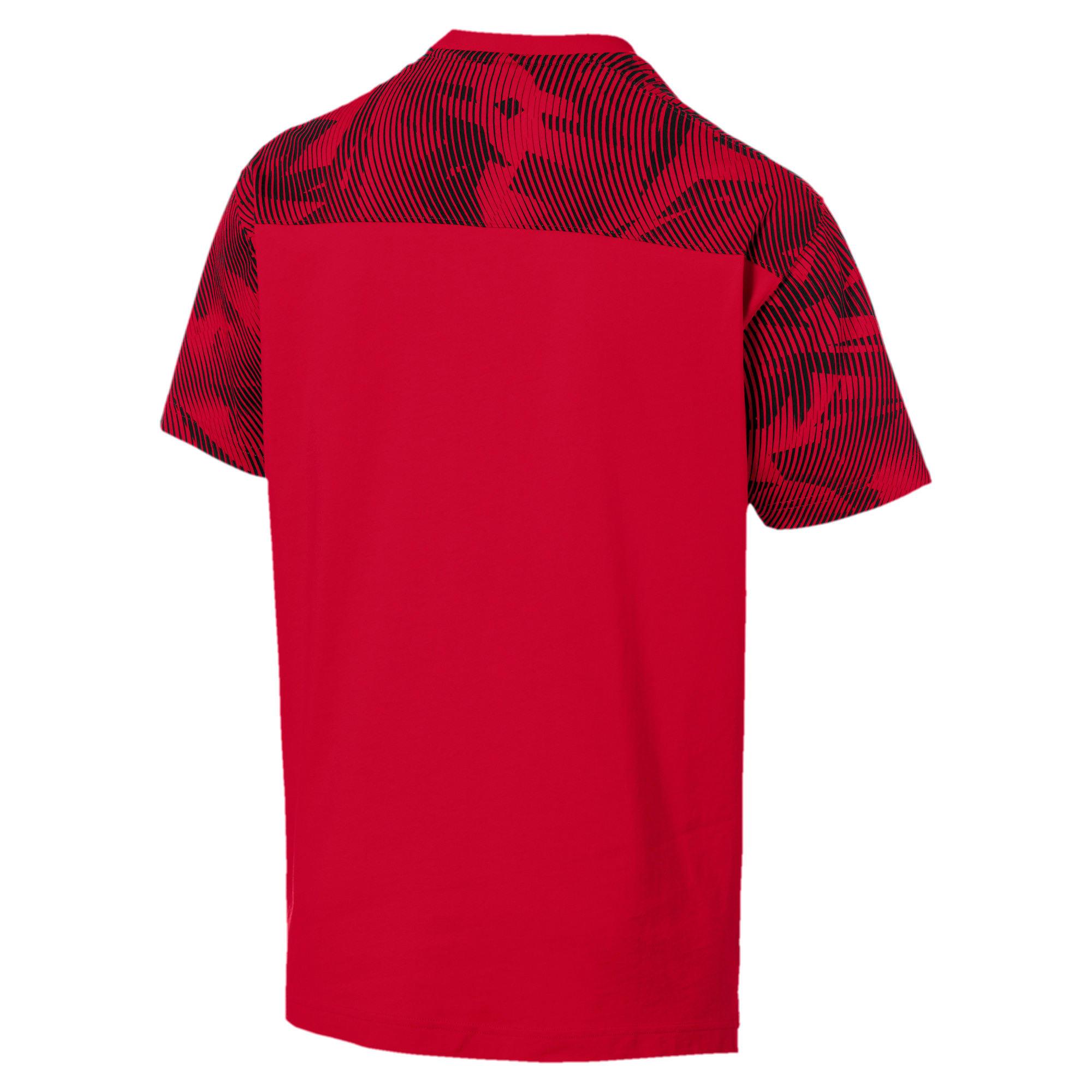 Thumbnail 5 of AC Milan Casuals Men's Tee, Tango Red -Puma Black, medium