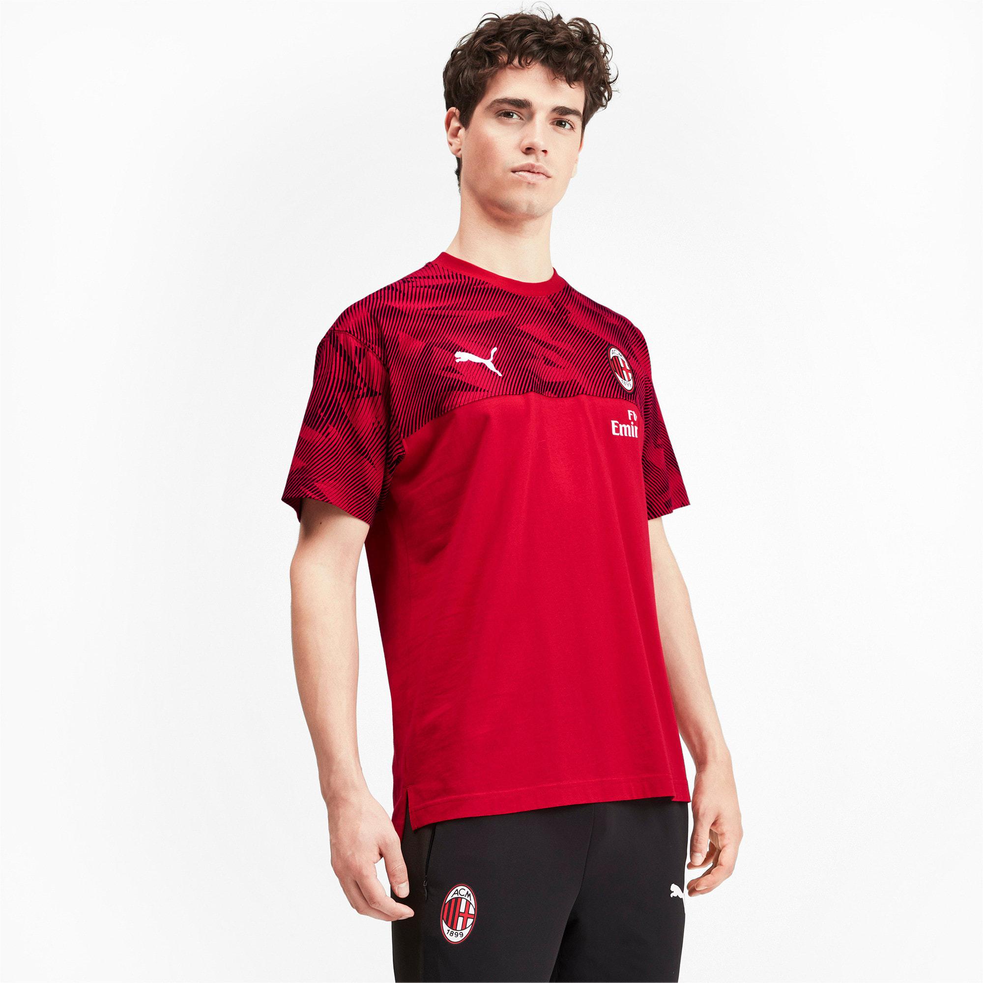 Thumbnail 1 of AC Milan Casuals Men's Tee, Tango Red -Puma Black, medium
