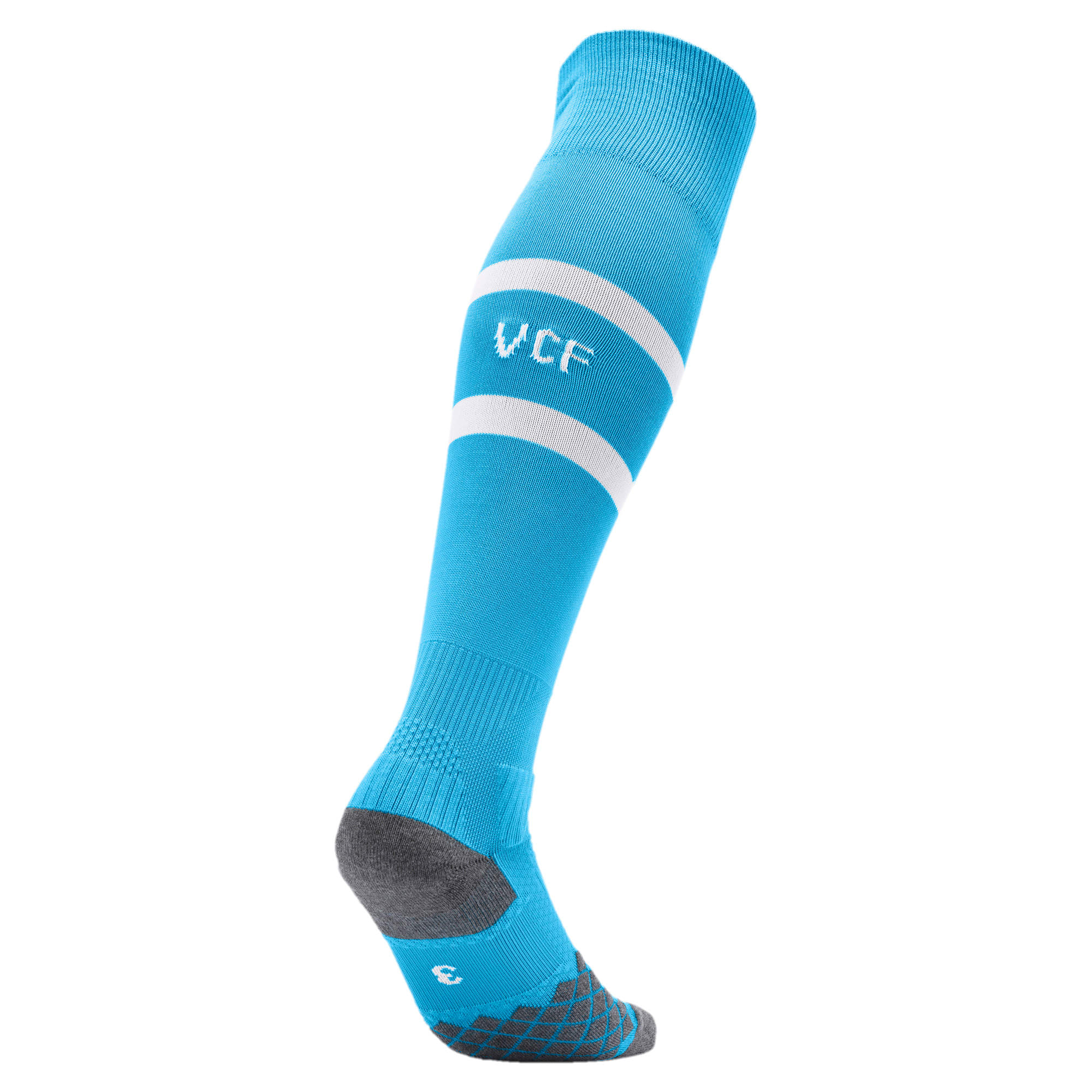 Thumbnail 2 of Valencia CF Herren Band Socken, Bleu Azur-Puma White, medium
