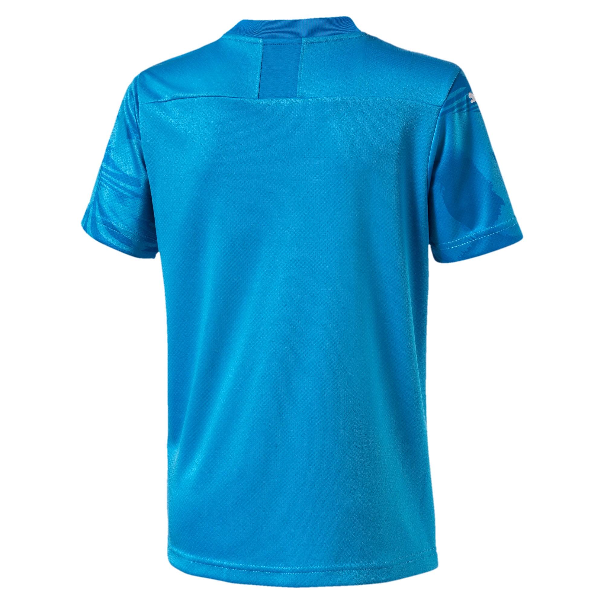 Thumbnail 2 of Valencia CF Third Replica Kids' Shirt, Bleu Azur-Indigo Bunting, medium