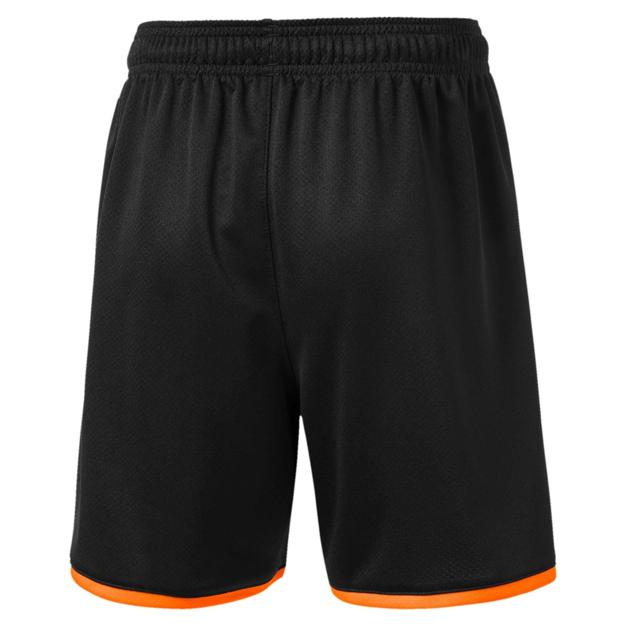 Thumbnail 2 of Valencia CF Boys' Replica Shorts, Puma Black-Vibrant Orange, medium