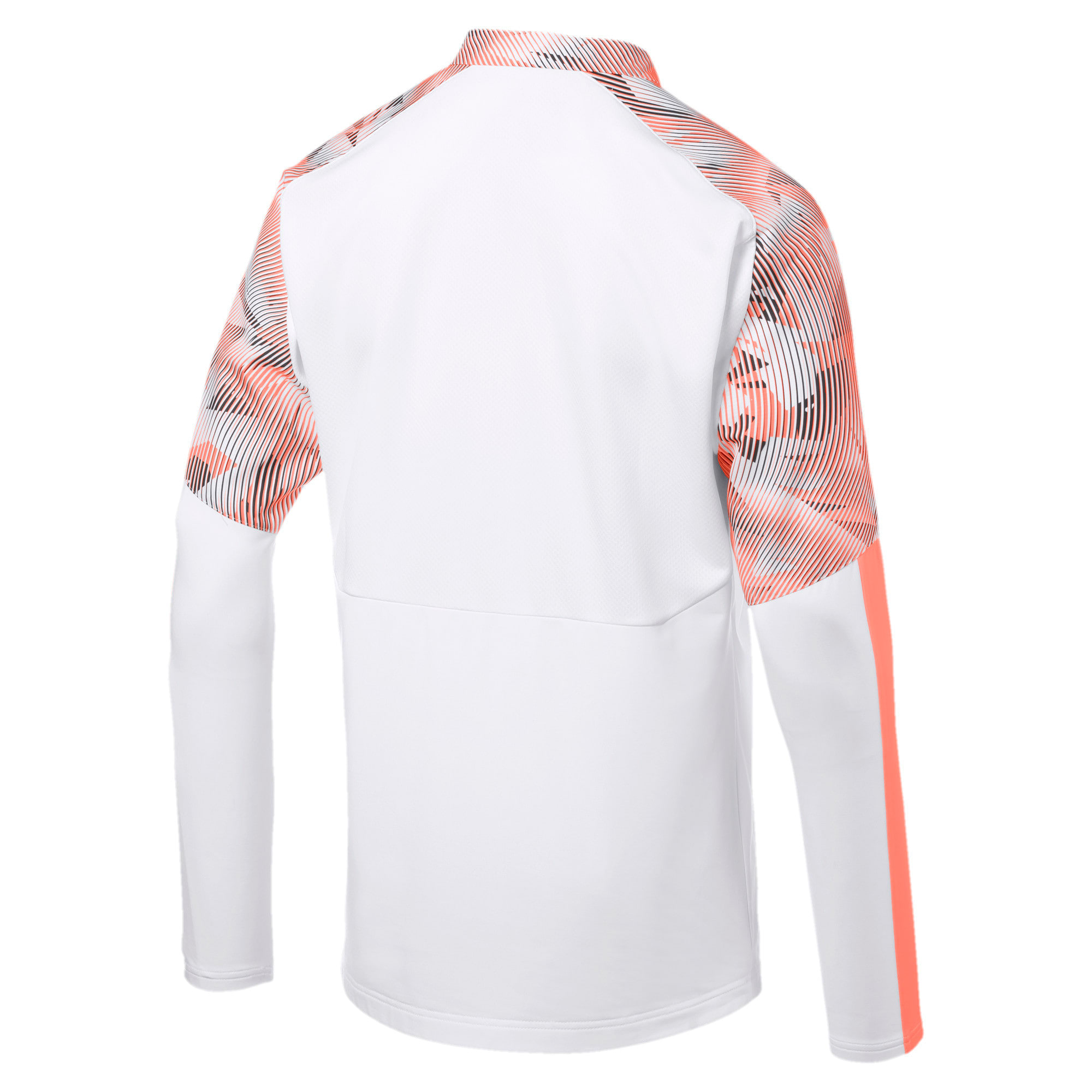 Thumbnail 2 of Valencia CF Herren Sweatshirt, Puma White-Fizzy Orange, medium