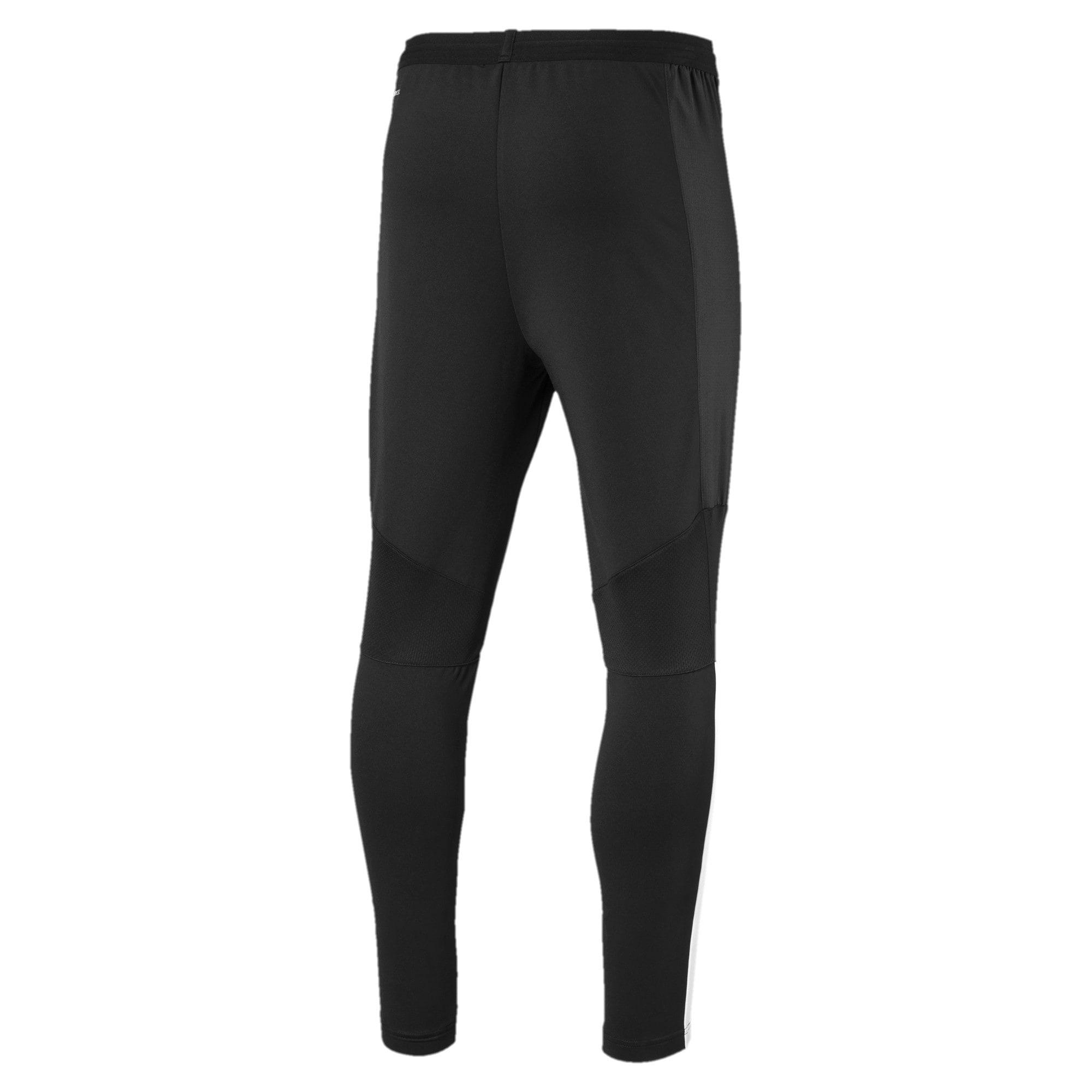 Thumbnail 2 of Valencia CF Men's Training Pants, Puma Black-Puma White, medium