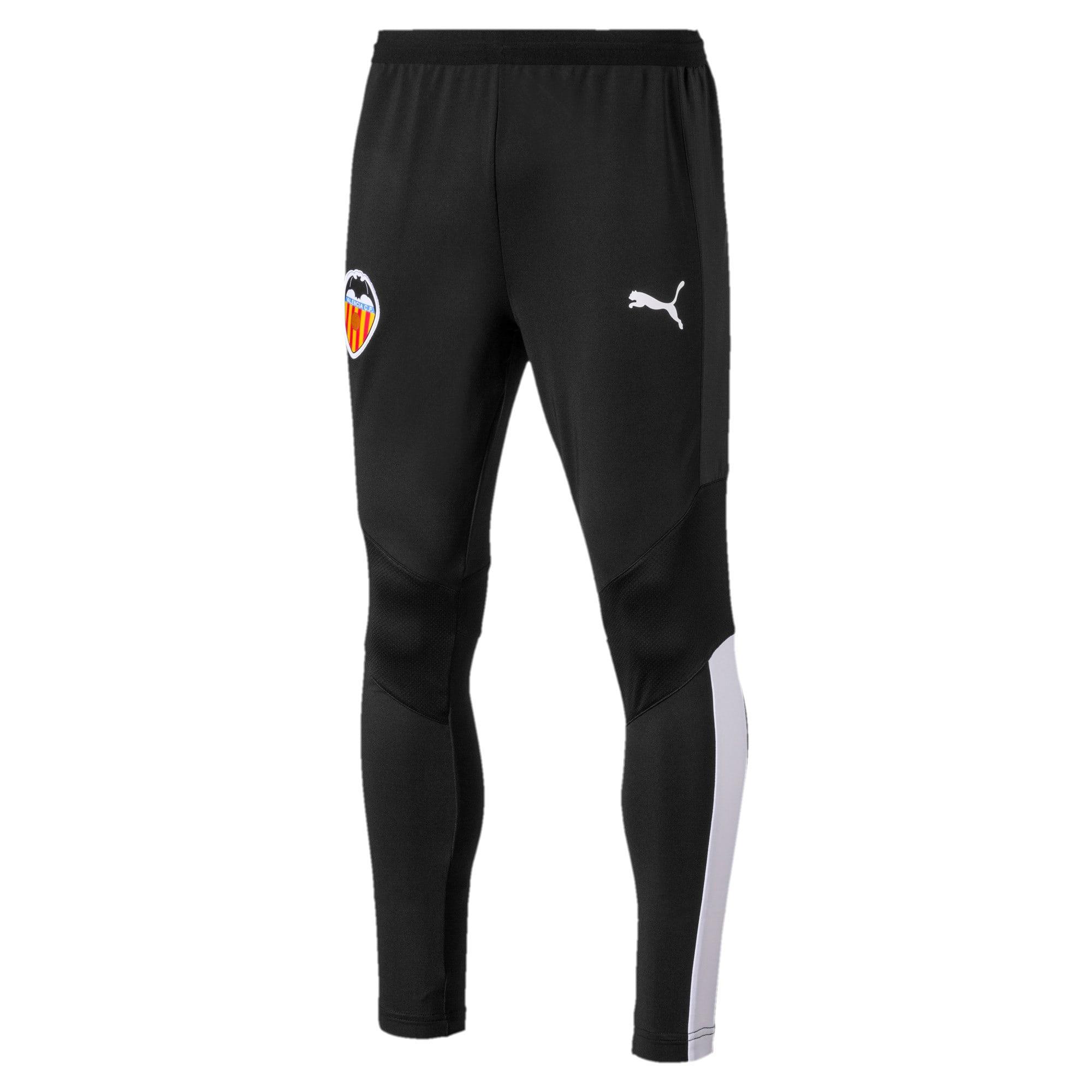 Thumbnail 1 of Valencia CF Men's Training Pants, Puma Black-Puma White, medium