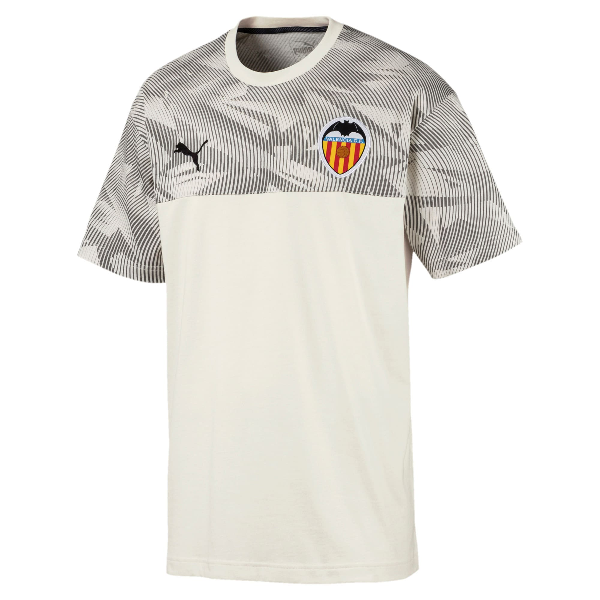 Valencia CF Casuals Men's Tee, Whisper White, large