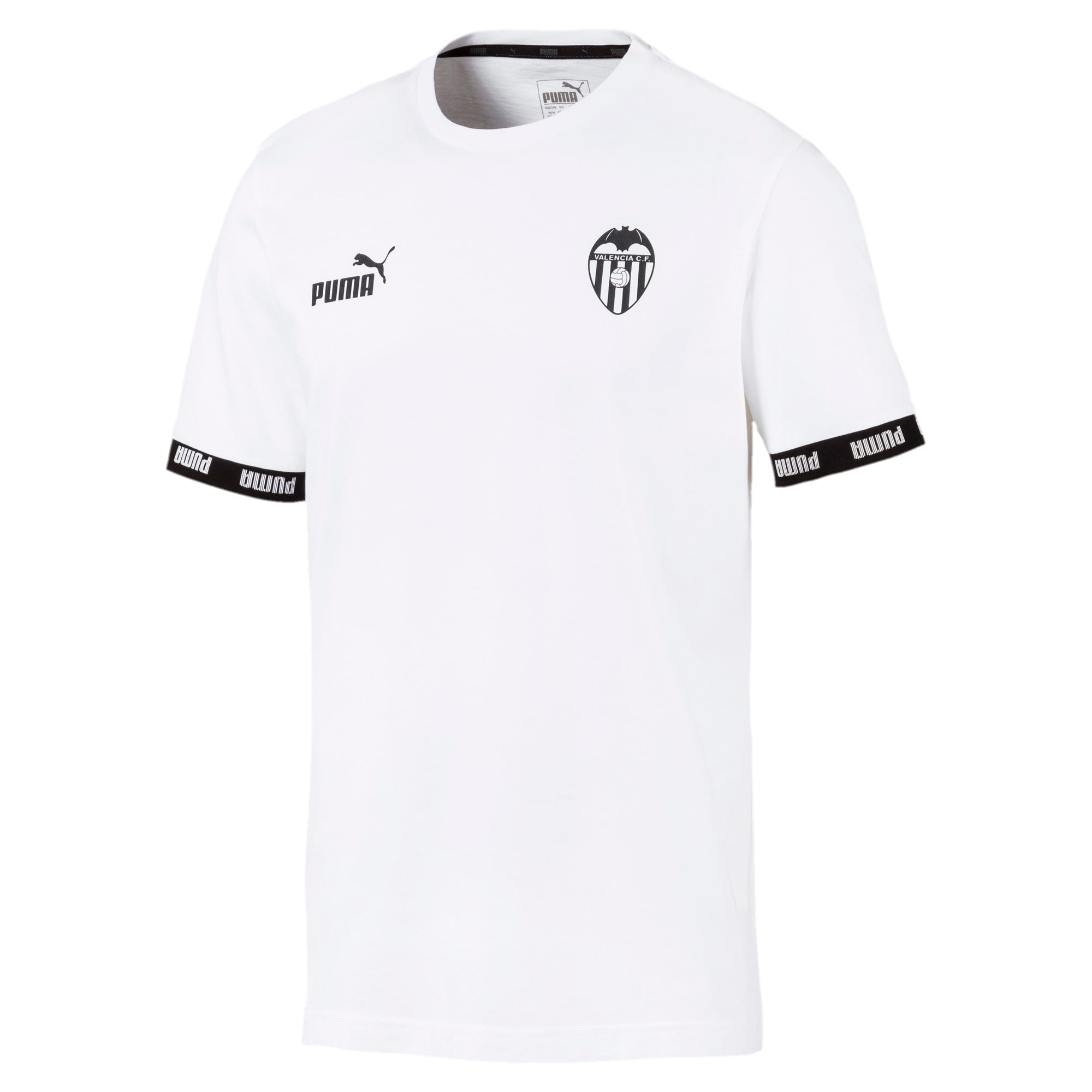 Thumbnail 1 of Valencia CF Football Culture Men's Tee, Puma White, medium