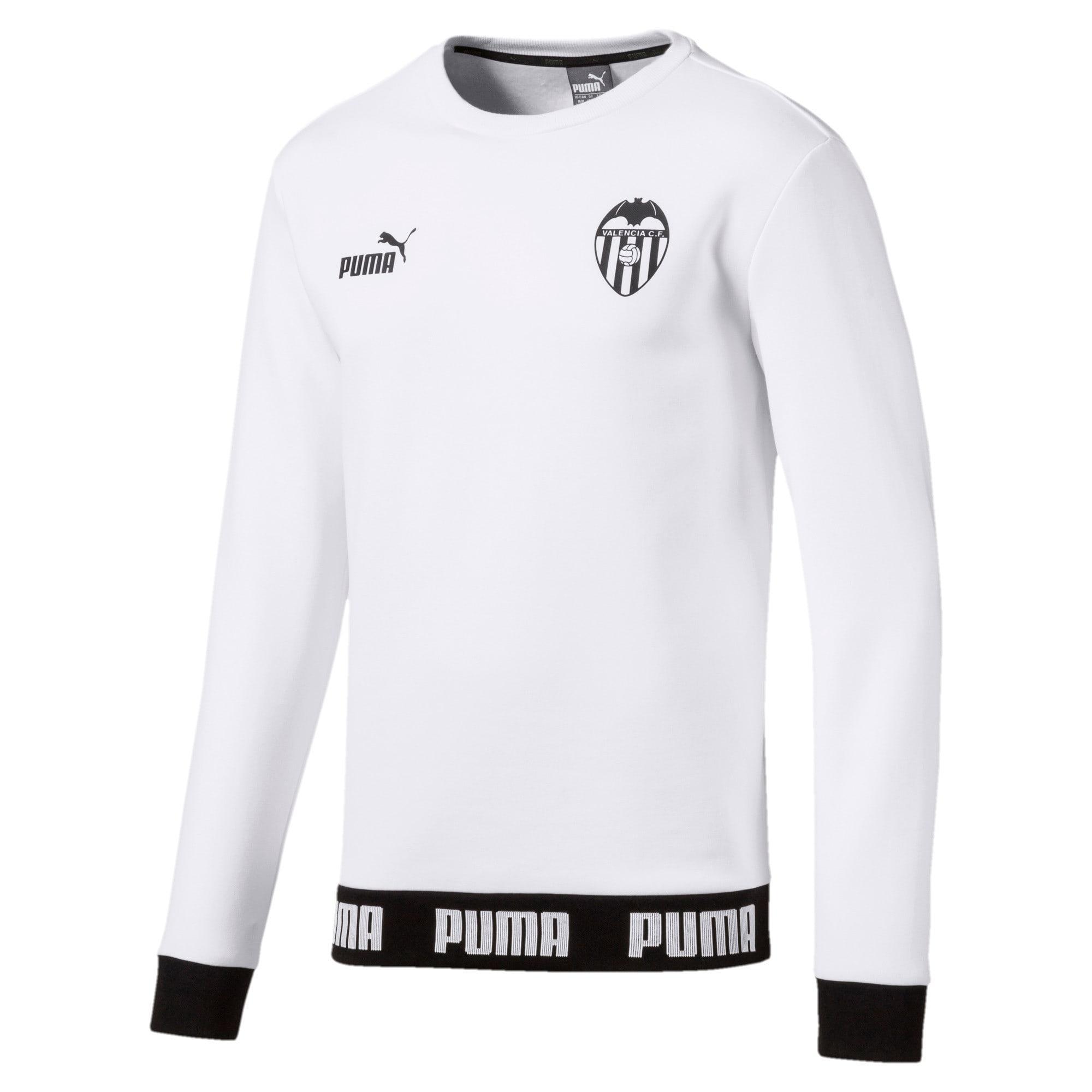 Thumbnail 1 of Valencia CF Football Culture Men's Sweater, Puma White, medium