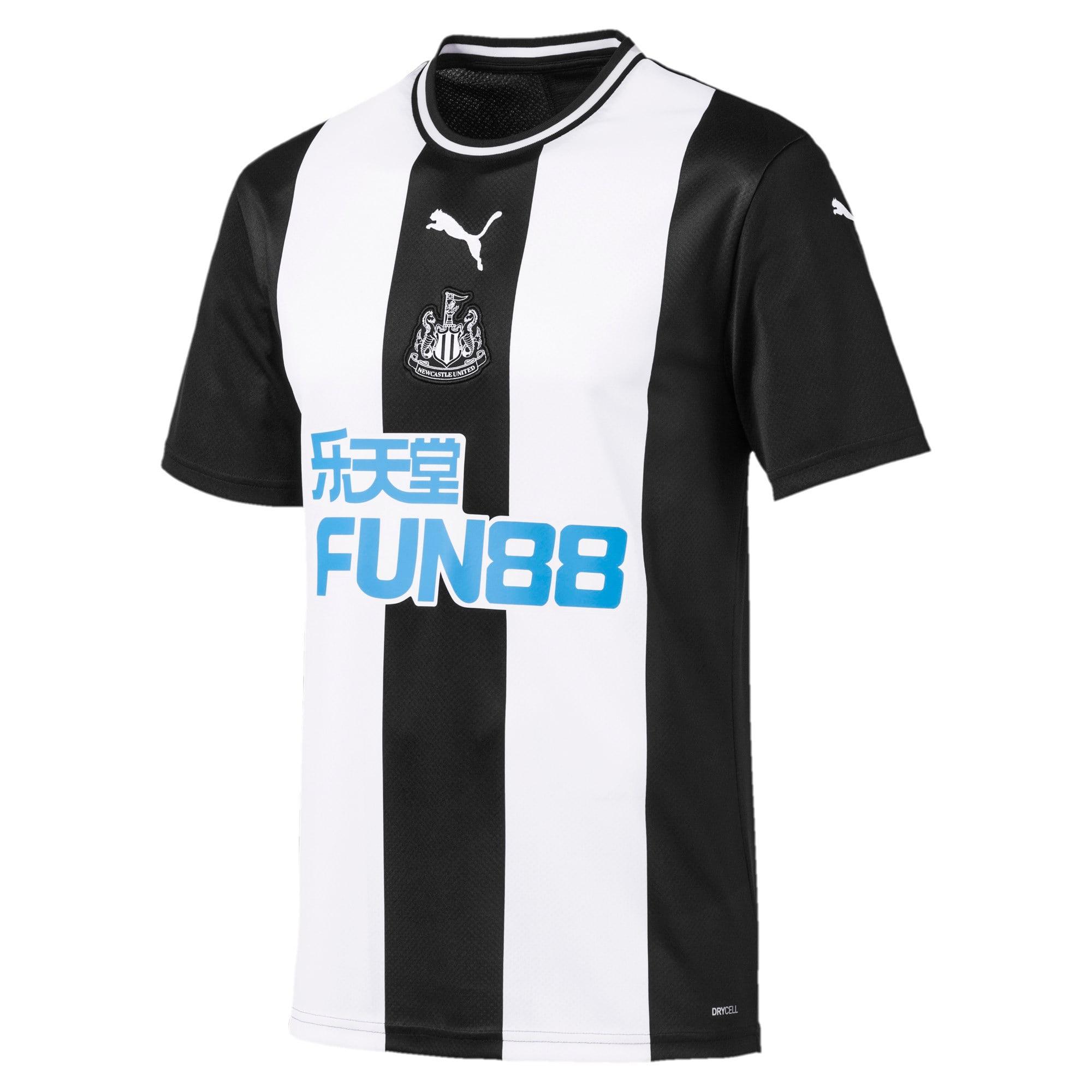 Thumbnail 1 of Newcastle United FC Herren Replica Heimtrikot, Puma White-Puma Black, medium
