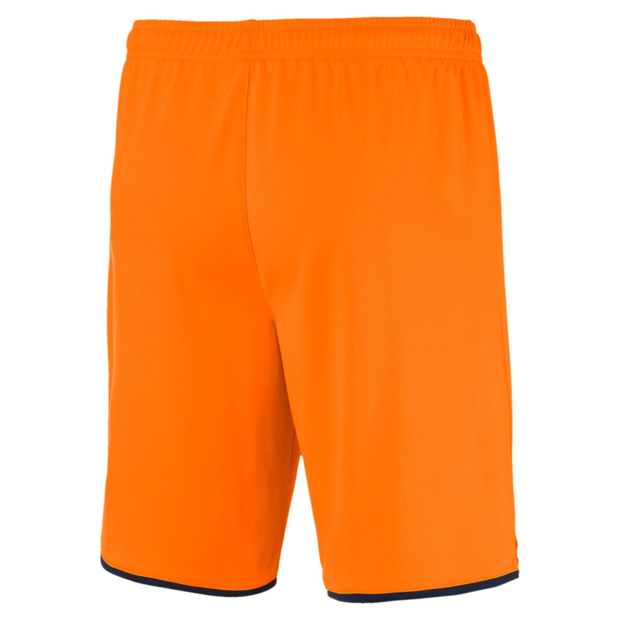 Thumbnail 2 of Newcastle United FC Men's Replica Shorts, Vibrant Orange-Peacoat, medium