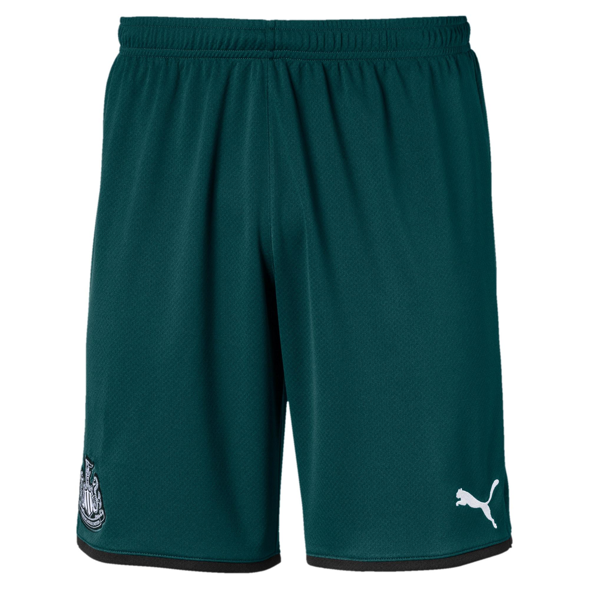 Thumbnail 1 of Newcastle United FC Men's Replica Shorts, Ponderosa Pine-Puma Black, medium