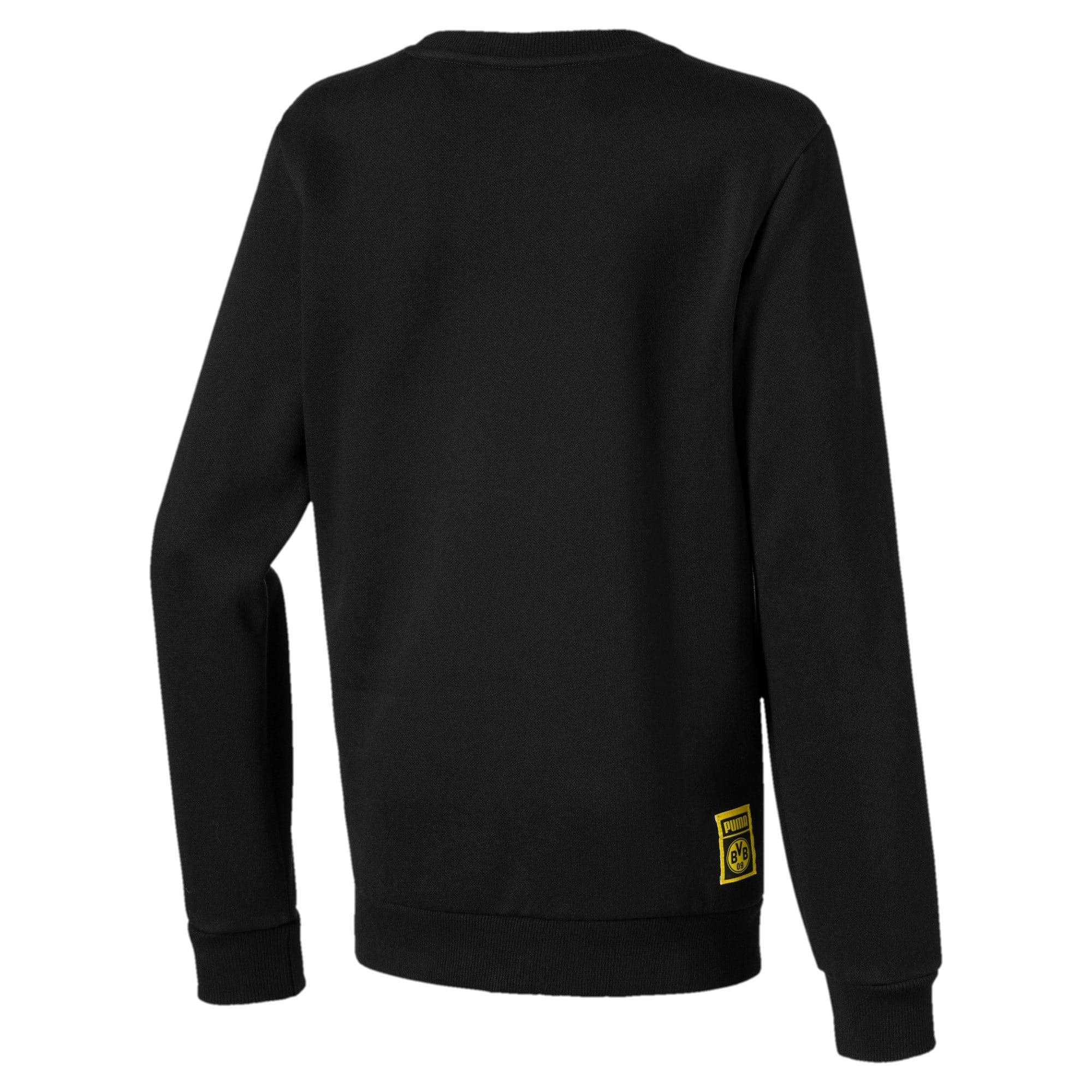 Thumbnail 2 of BVB DNA Kids' Sweater, Puma Black, medium