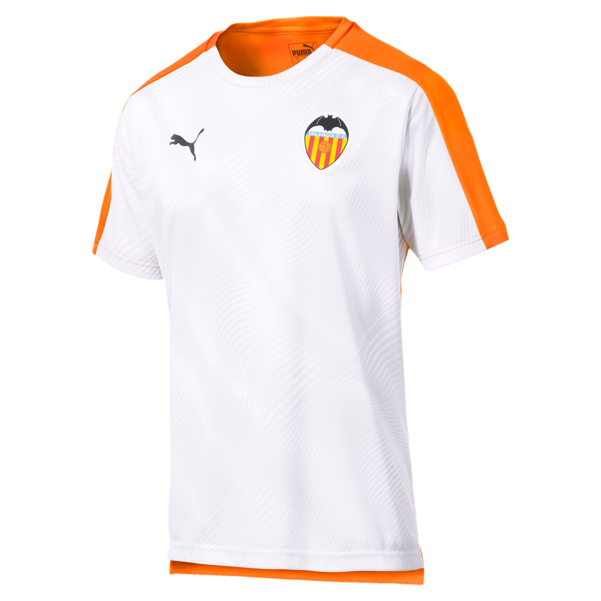 Thumbnail 1 of Valencia CF Men's Stadium Jersey, Vibrant Orange-Puma White, medium