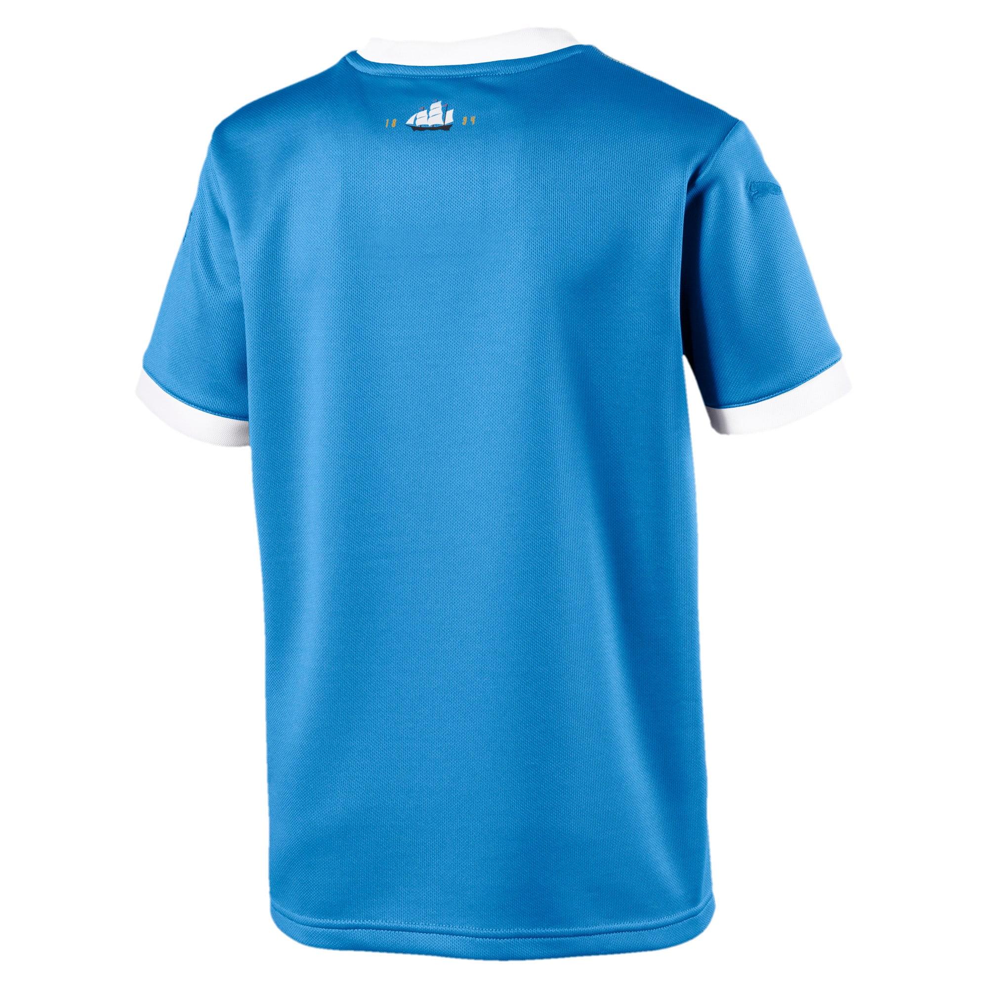 Thumbnail 2 of Manchester City 125 Year Anniversary shirt voor kinderen, Marina-Puma White, medium