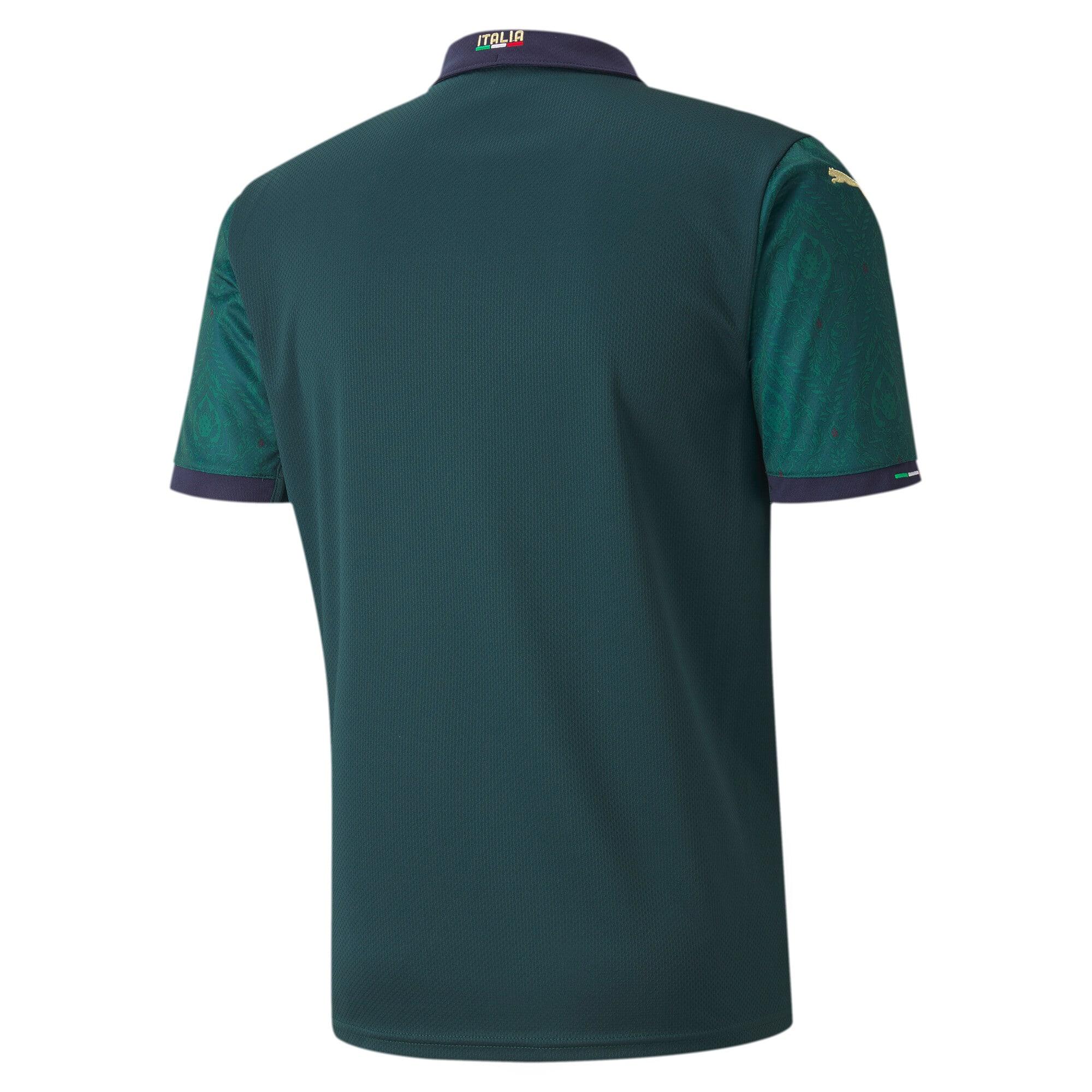 Thumbnail 2 of FIGC Men's Third Replica Jersey, Ponderosa Pine-Peacoat, medium