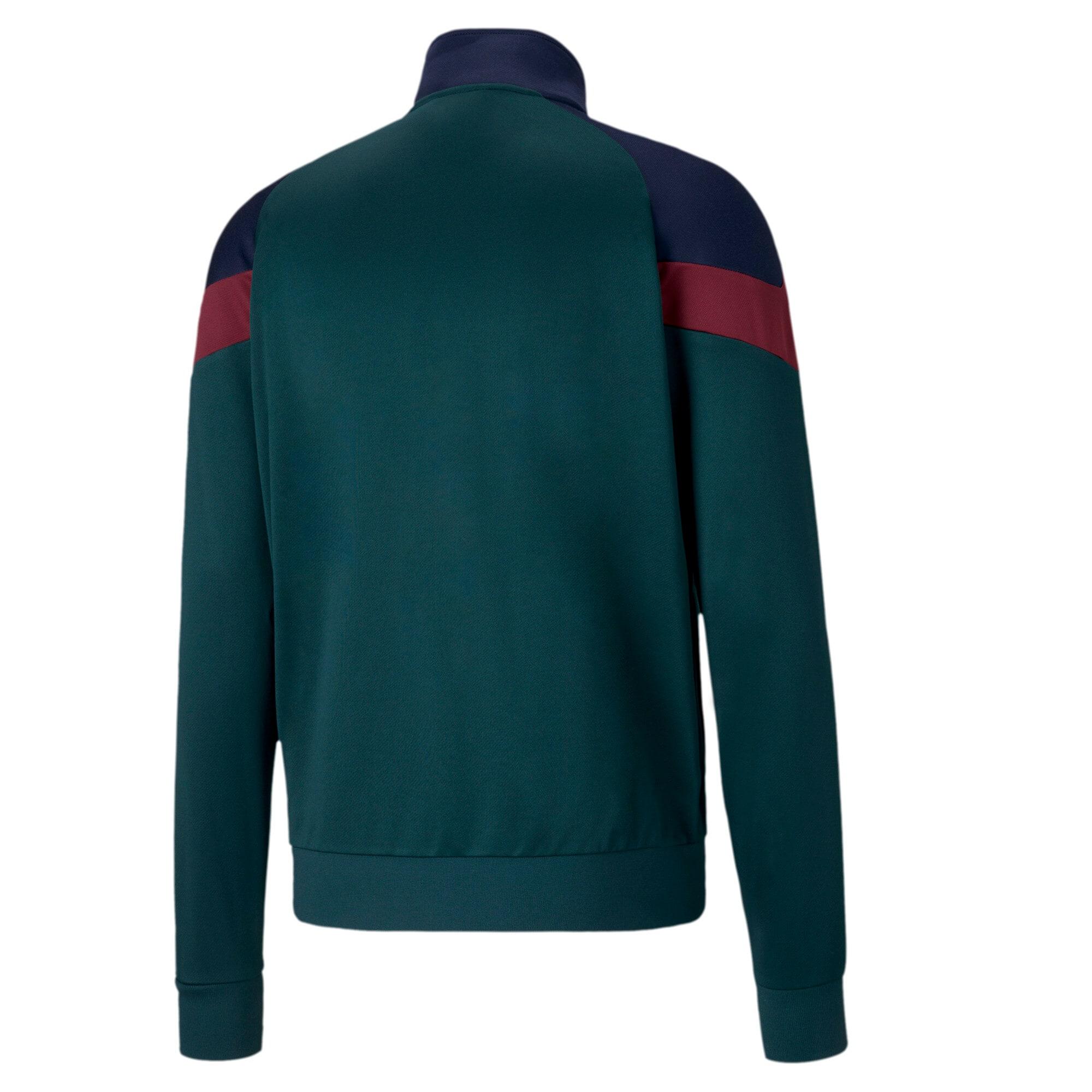 Miniatura 2 de Chaqueta deportiva Iconic MCS de la FIGC para hombre , Ponderosa Pine-Peacoat, mediano