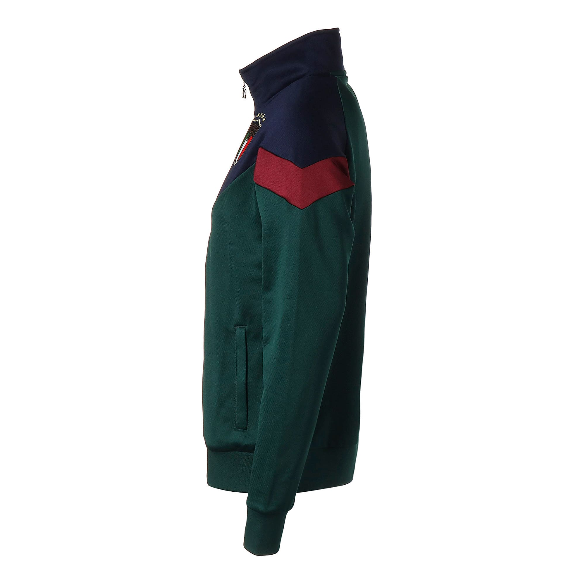 Thumbnail 2 of FIGC イタリア ICONIC MCS トラックジャケット, Ponderosa Pine-Peacoat, medium-JPN