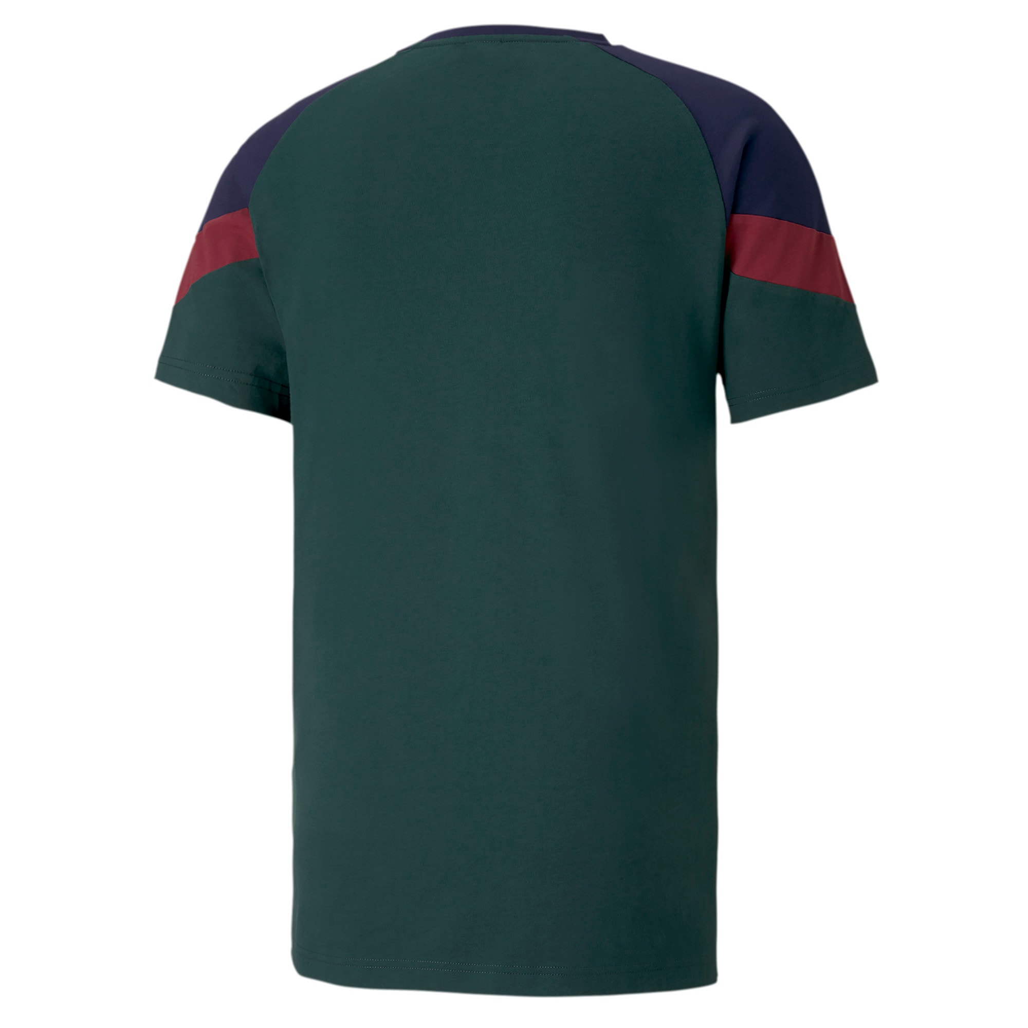 Thumbnail 2 of Italia Iconic MCS Herren T-Shirt, Ponderosa Pine-peacoat, medium