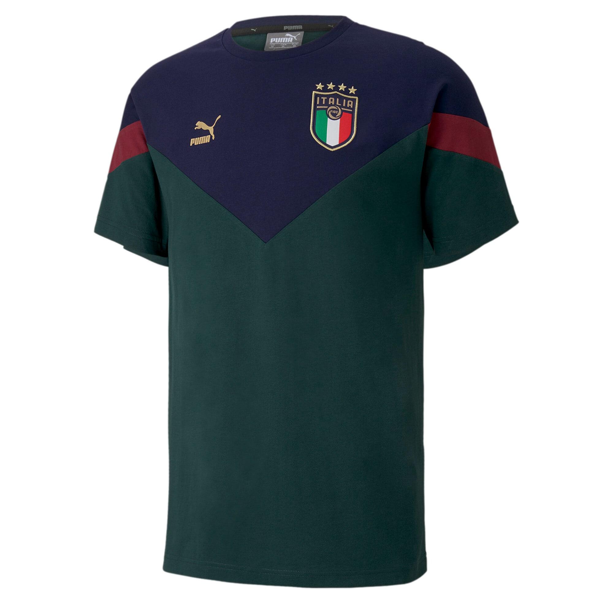 Thumbnail 1 of FIGC イタリア ICONIC MCS Tシャツ 半袖, Ponderosa Pine-peacoat, medium-JPN