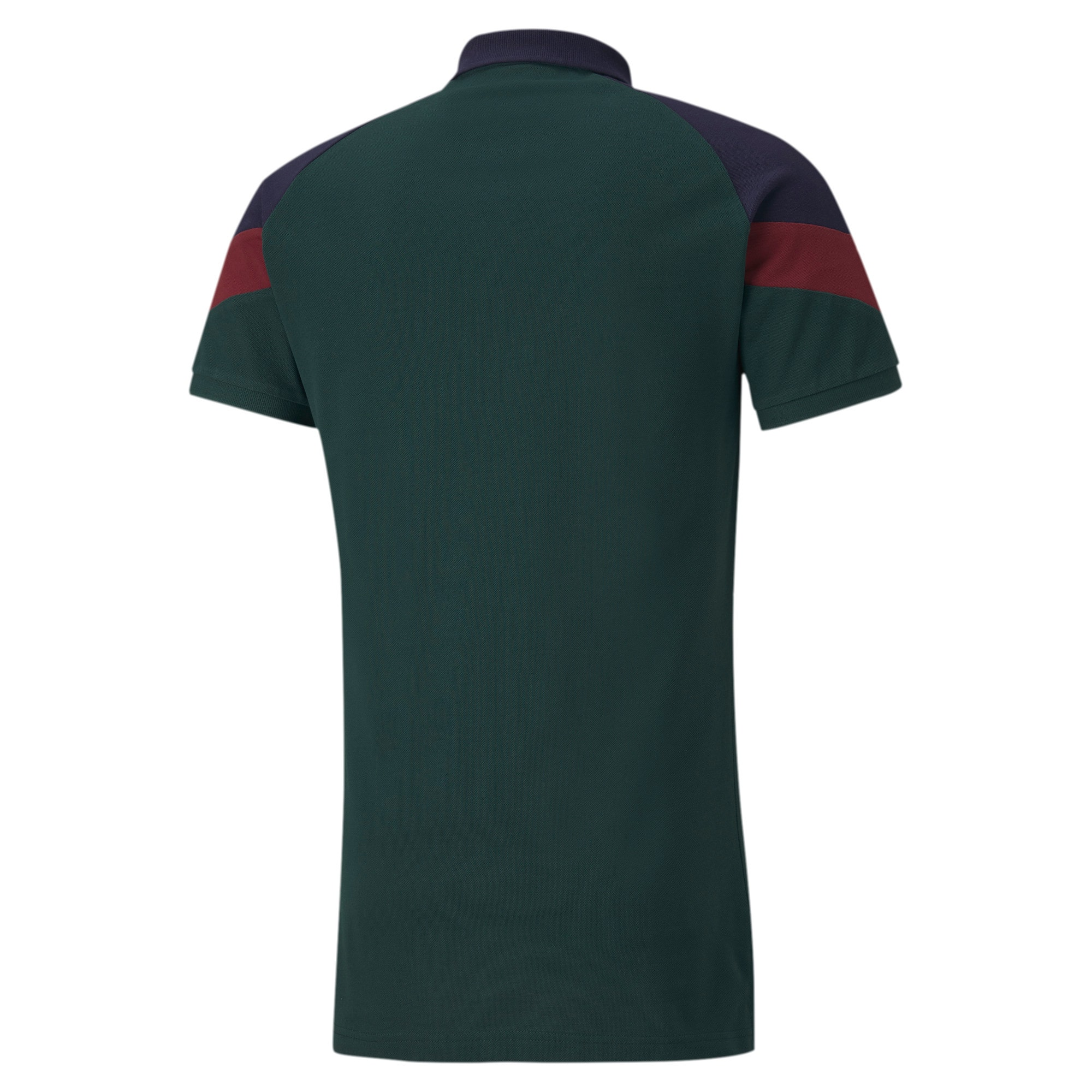Thumbnail 3 of FIGC イタリア ICONIC MCS ポロシャツ 半袖, Ponderosa Pine-peacoat, medium-JPN