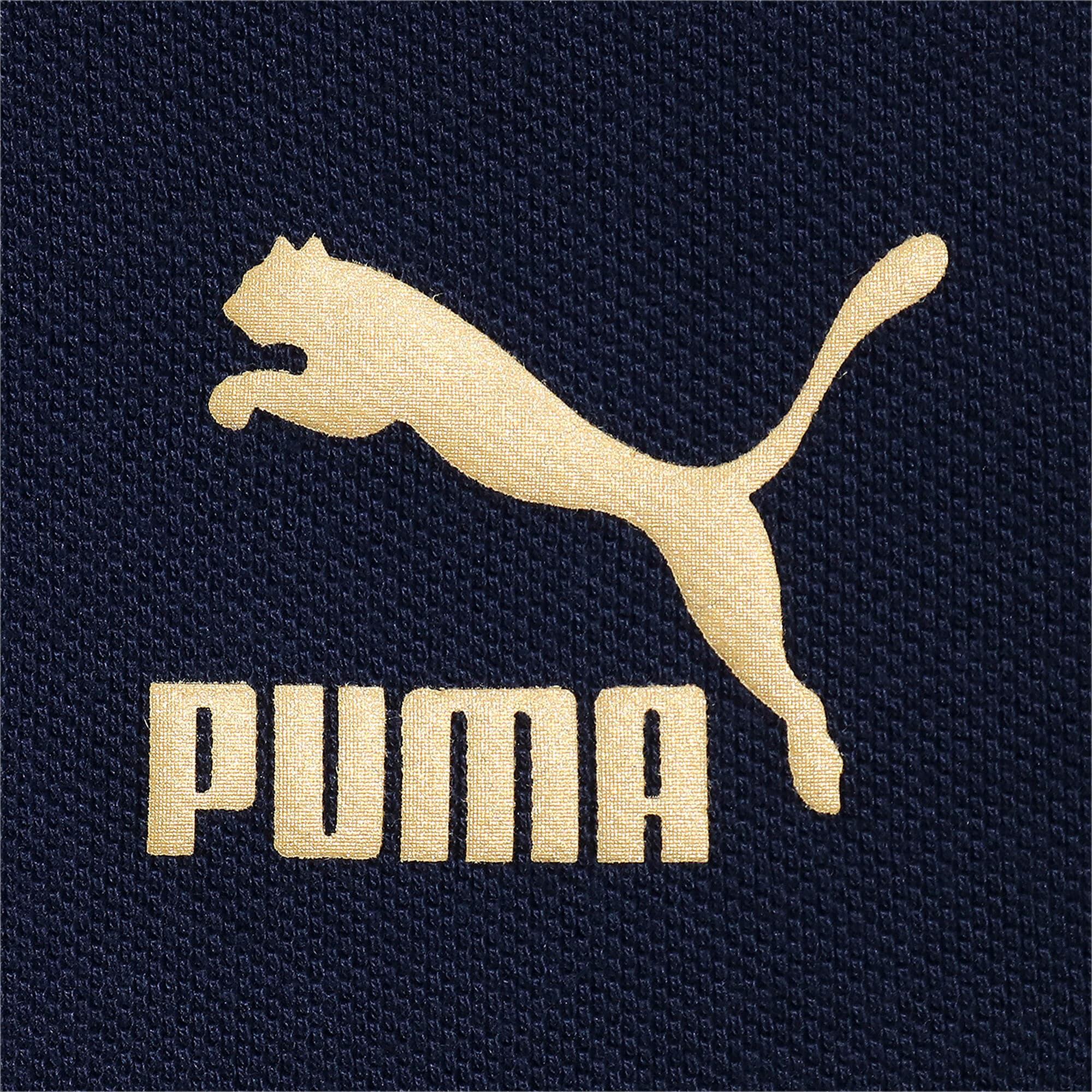 Thumbnail 4 of FIGC イタリア ICONIC MCS ポロシャツ 半袖, Ponderosa Pine-peacoat, medium-JPN