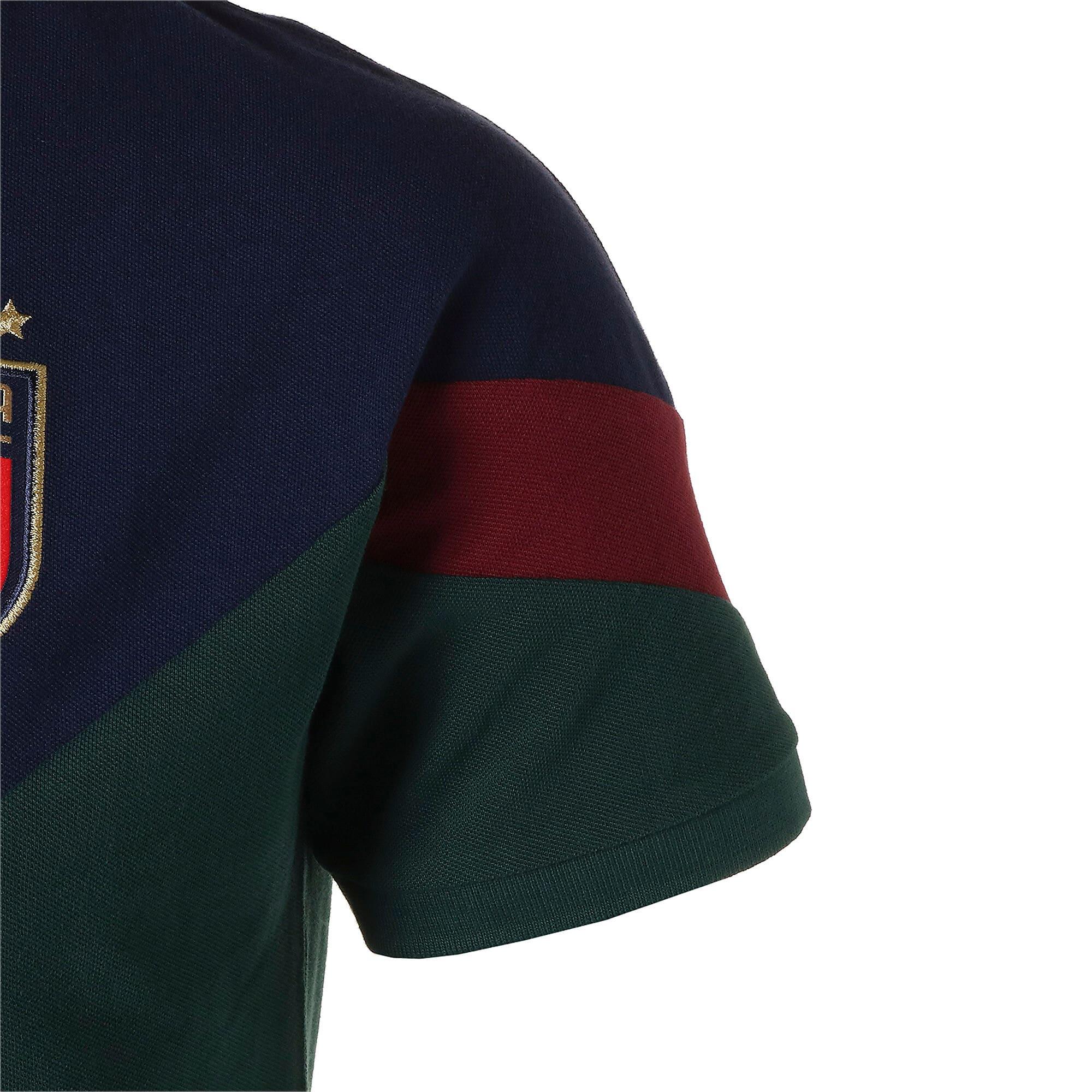 Thumbnail 5 of FIGC イタリア ICONIC MCS ポロシャツ 半袖, Ponderosa Pine-peacoat, medium-JPN
