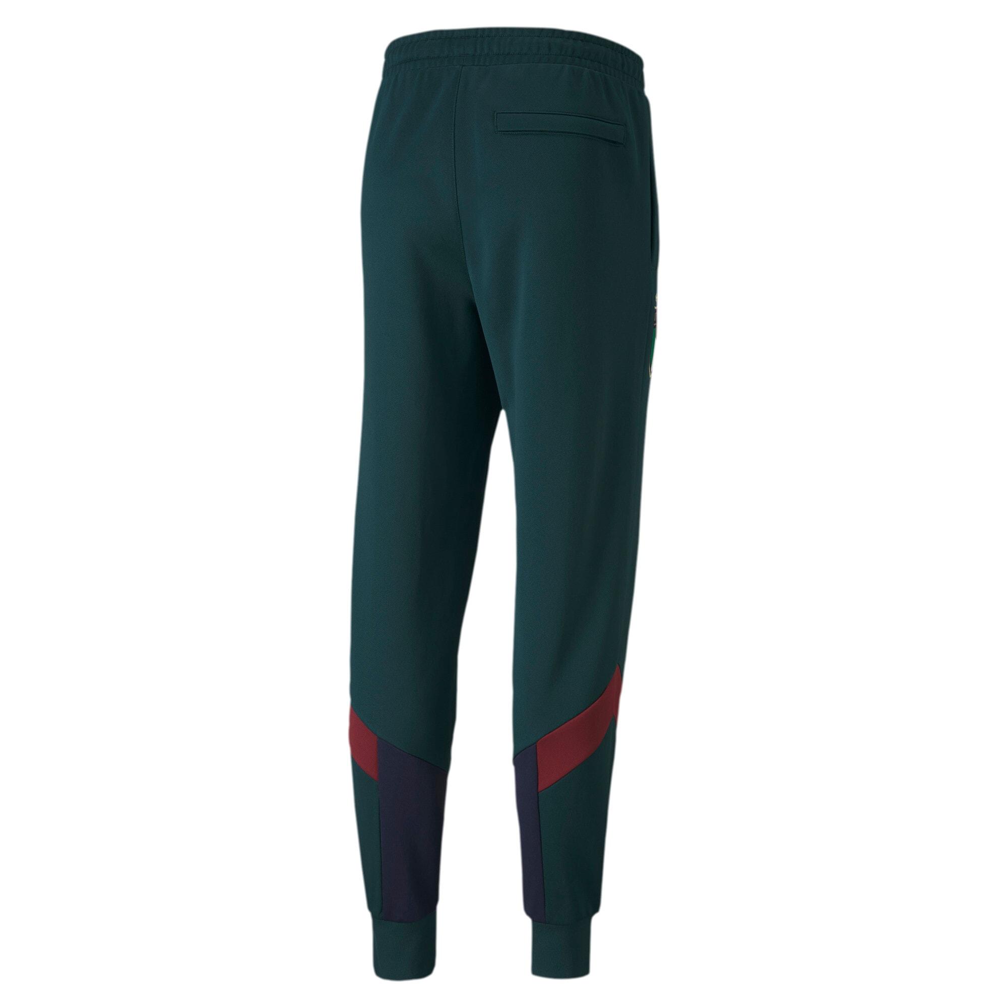 Thumbnail 2 of FIGC Iconic MCS Men's Track Pants, Ponderosa Pine-Peacoat, medium
