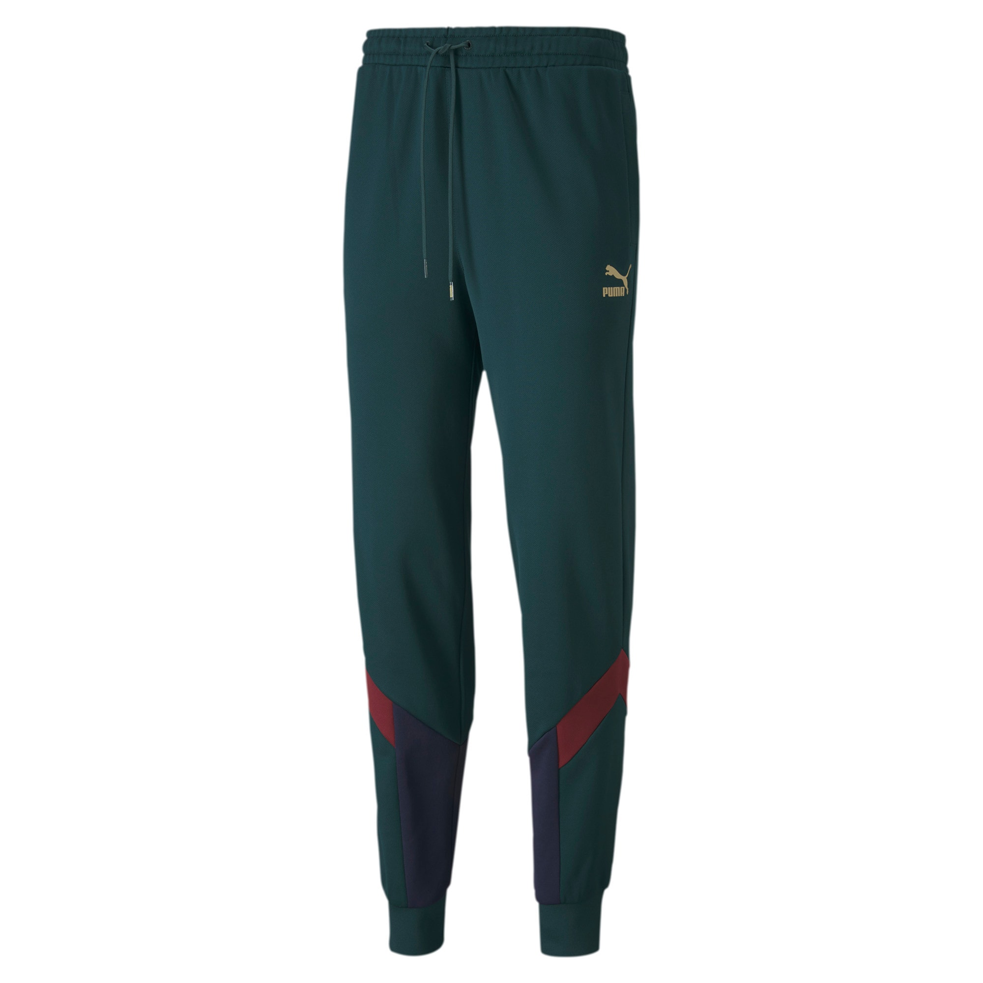 Thumbnail 1 of FIGC Iconic MCS Men's Track Pants, Ponderosa Pine-Peacoat, medium