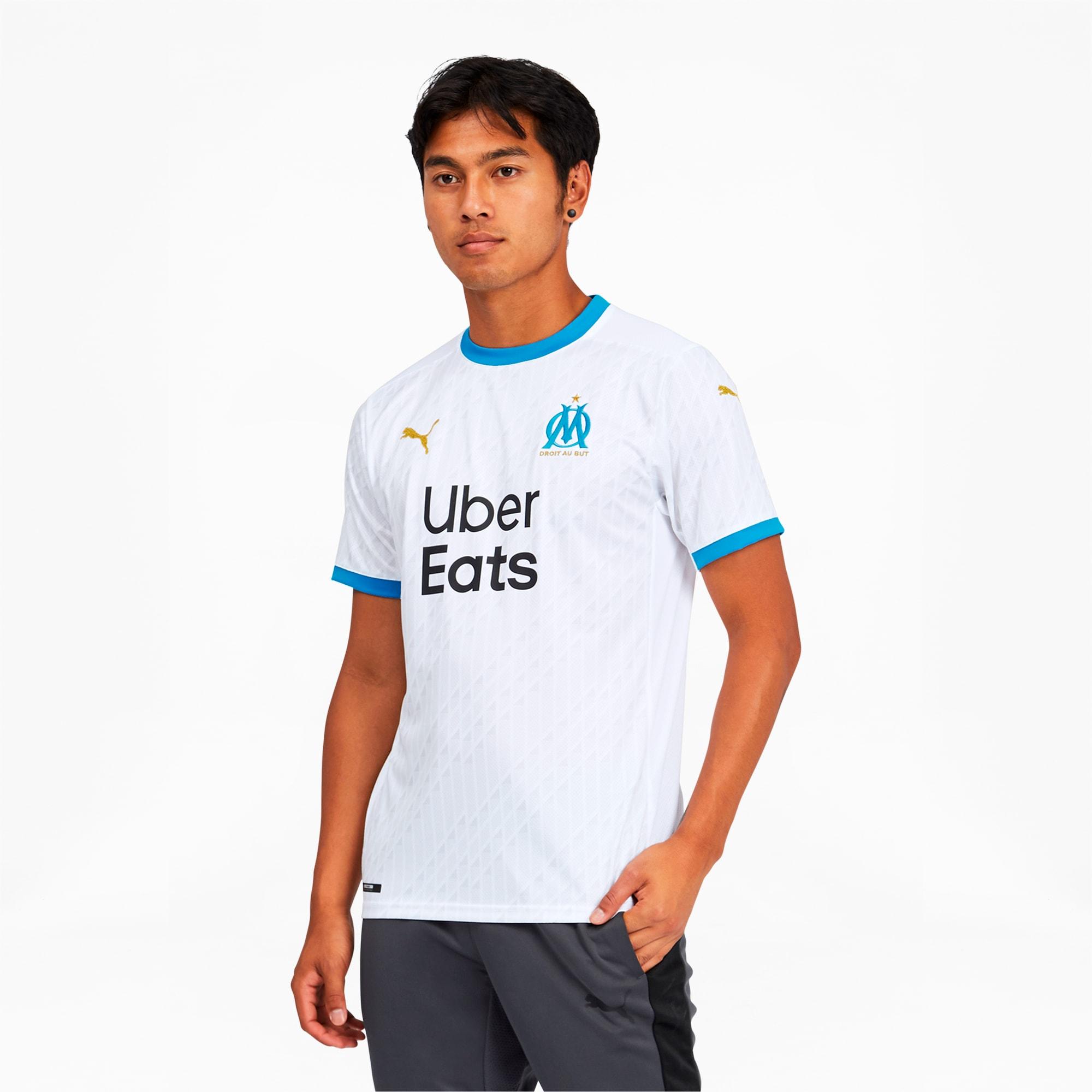 Olympique de Marseille Men's Home Replica Jersey