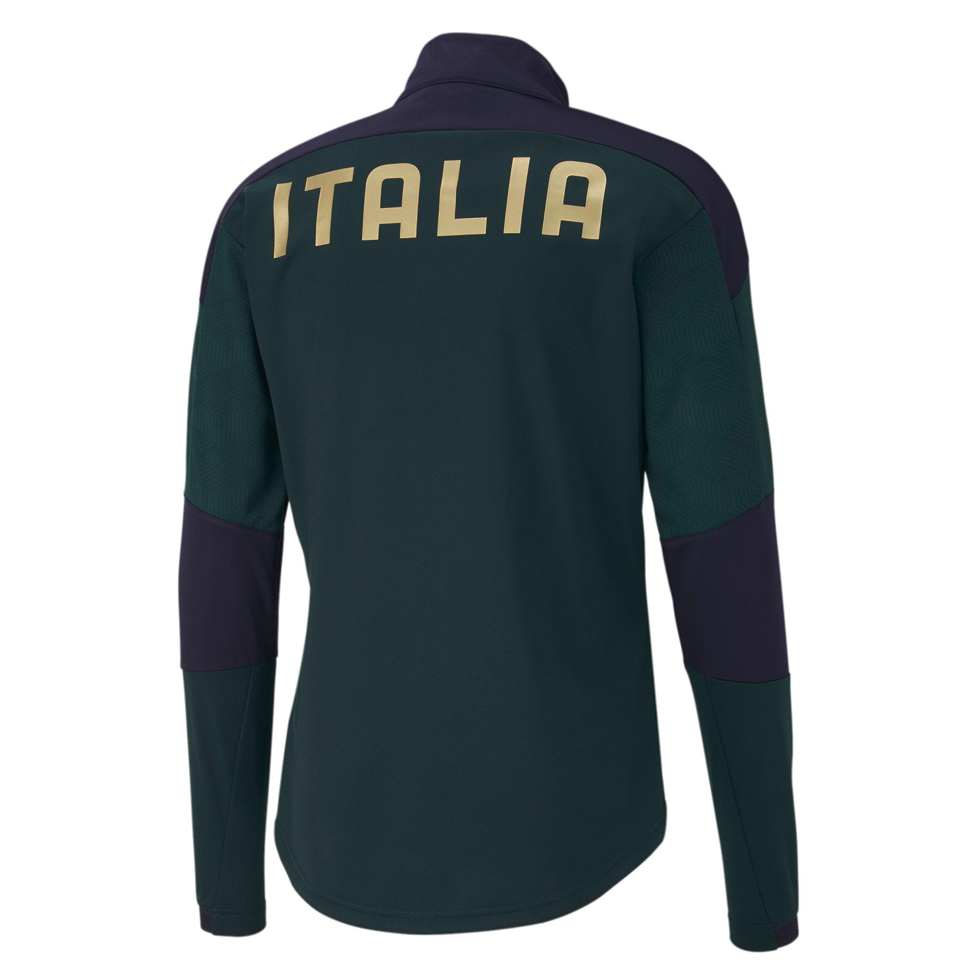 Thumbnail 3 of FIGC イタリア トレーニング ジャケット, Ponderosa Pine-Peacoat, medium-JPN