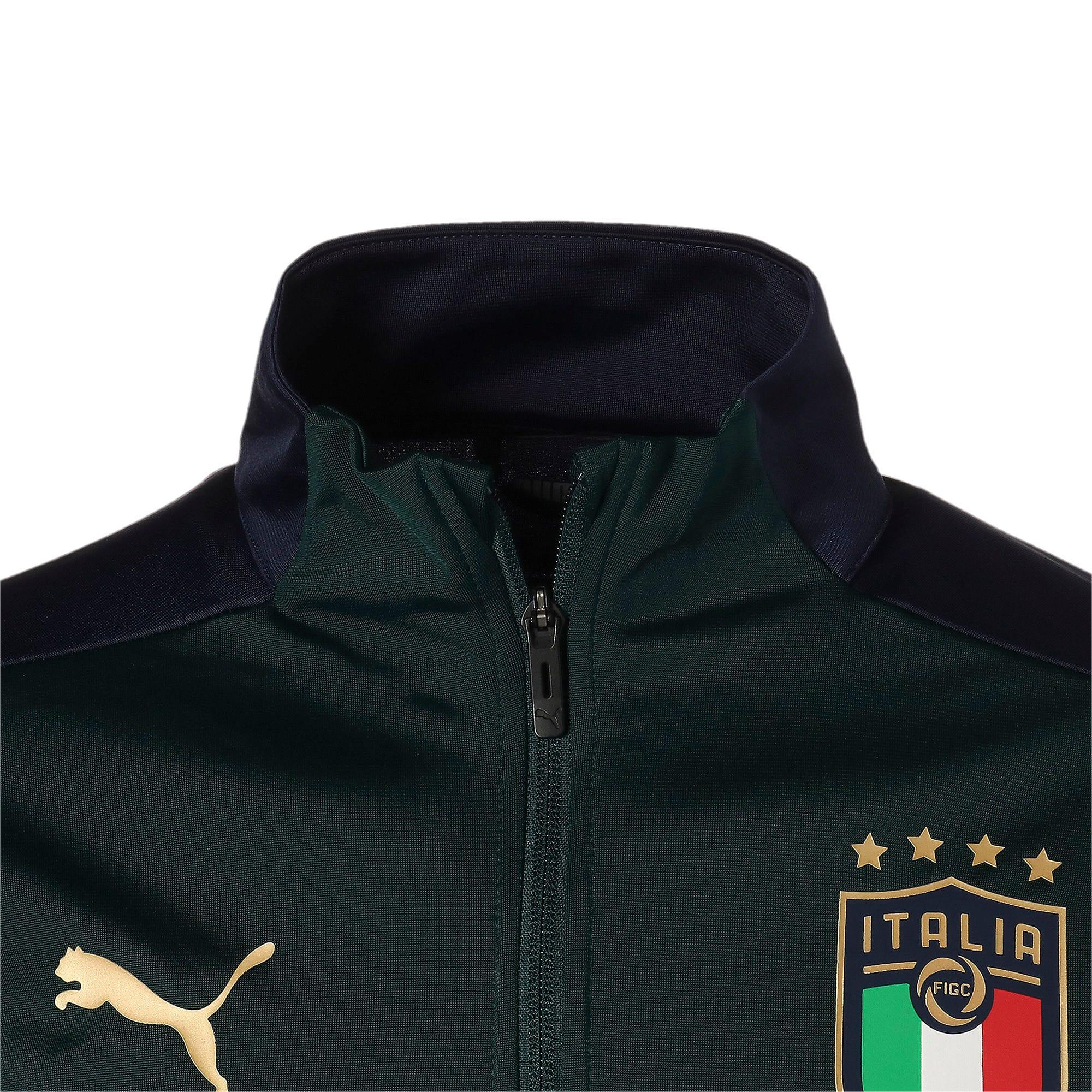Thumbnail 7 of FIGC イタリア トレーニング ジャケット, Ponderosa Pine-Peacoat, medium-JPN