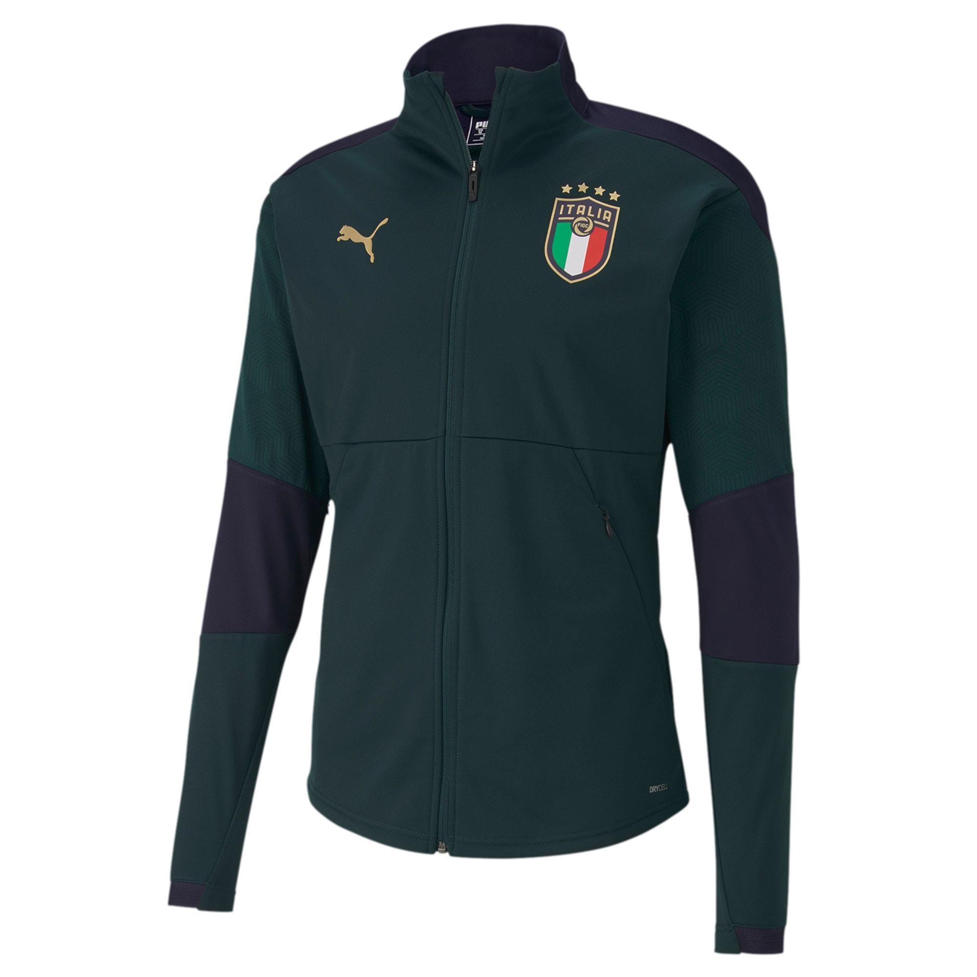 Thumbnail 1 of FIGC イタリア トレーニング ジャケット, Ponderosa Pine-Peacoat, medium-JPN