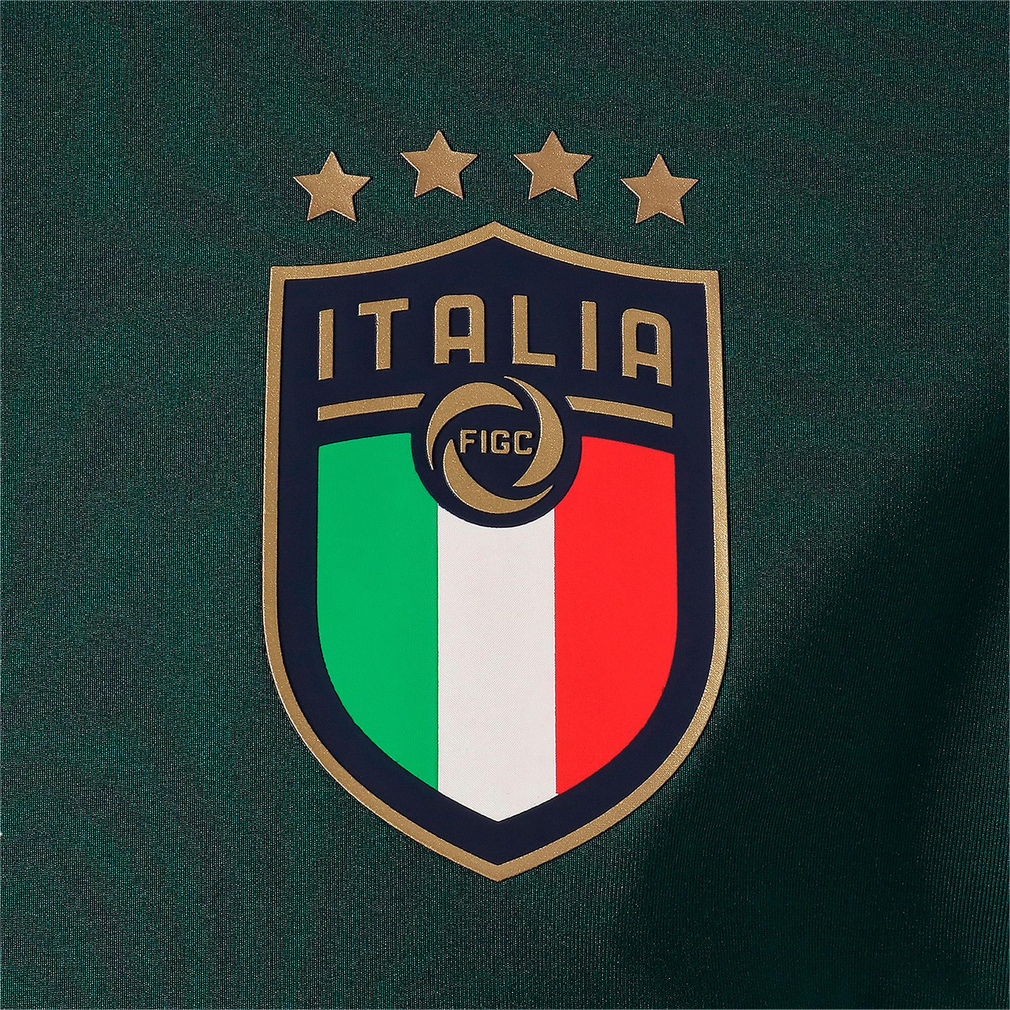 Thumbnail 8 of FIGC イタリア トレーニング 1/4 ジップトップ, Ponderosa Pine-Peacoat, medium-JPN