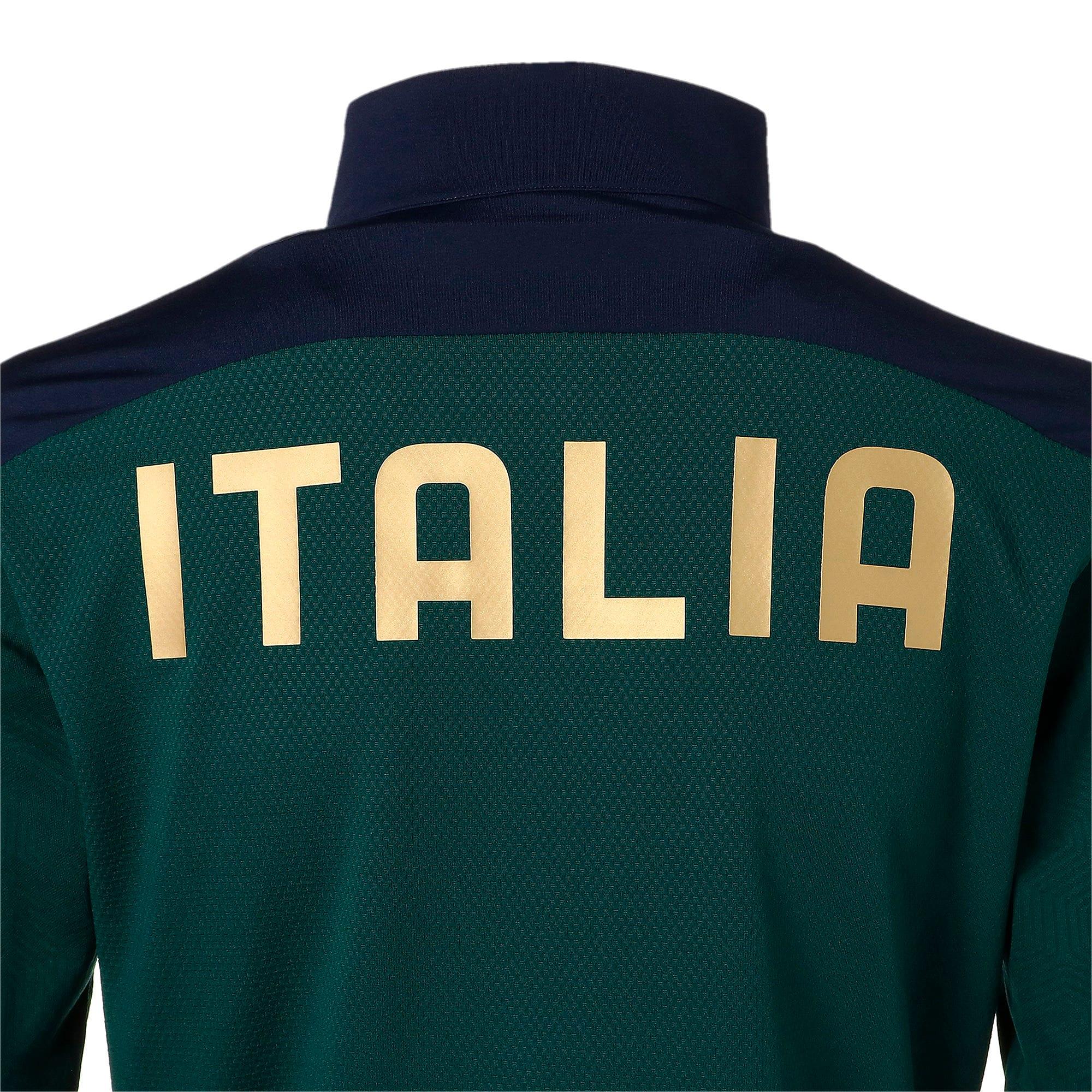 Thumbnail 10 of FIGC イタリア トレーニング 1/4 ジップトップ, Ponderosa Pine-Peacoat, medium-JPN