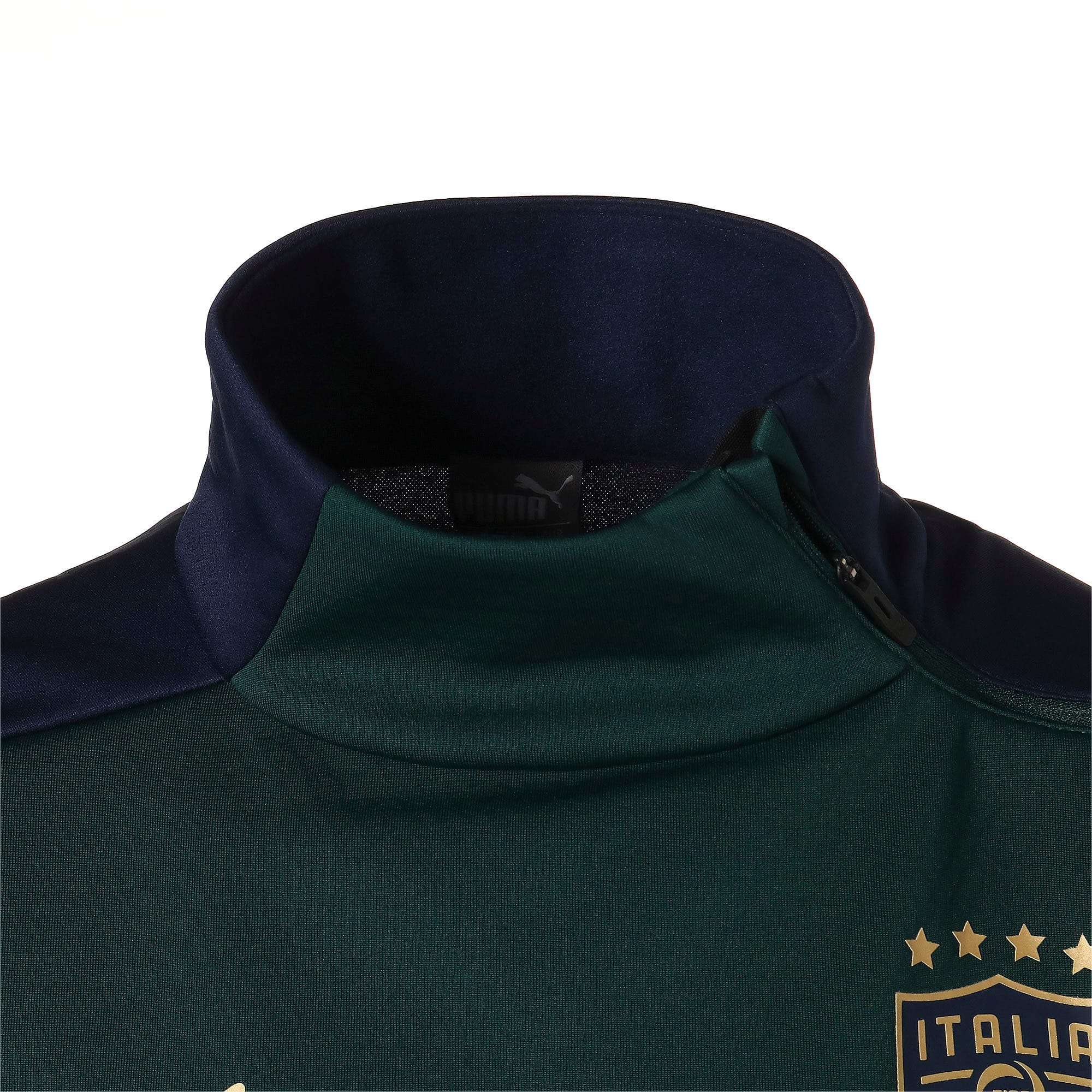 Thumbnail 7 of FIGC イタリア トレーニング フリース, Ponderosa Pine-Peacoat, medium-JPN