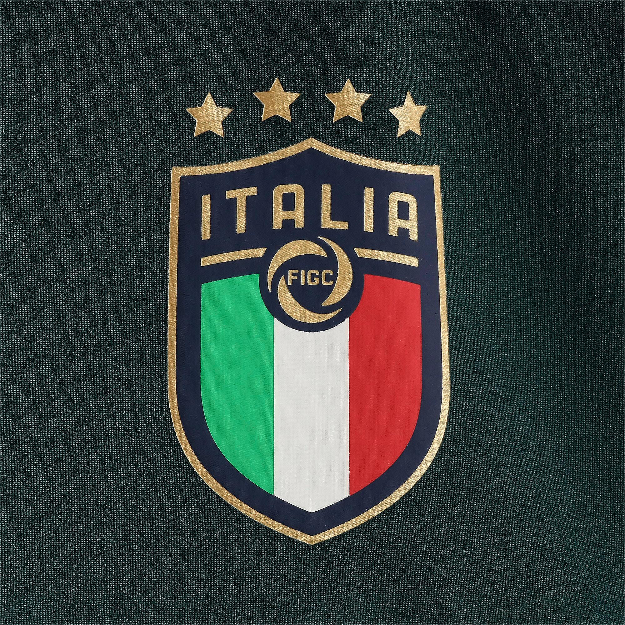 Thumbnail 8 of FIGC イタリア トレーニング フリース, Ponderosa Pine-Peacoat, medium-JPN