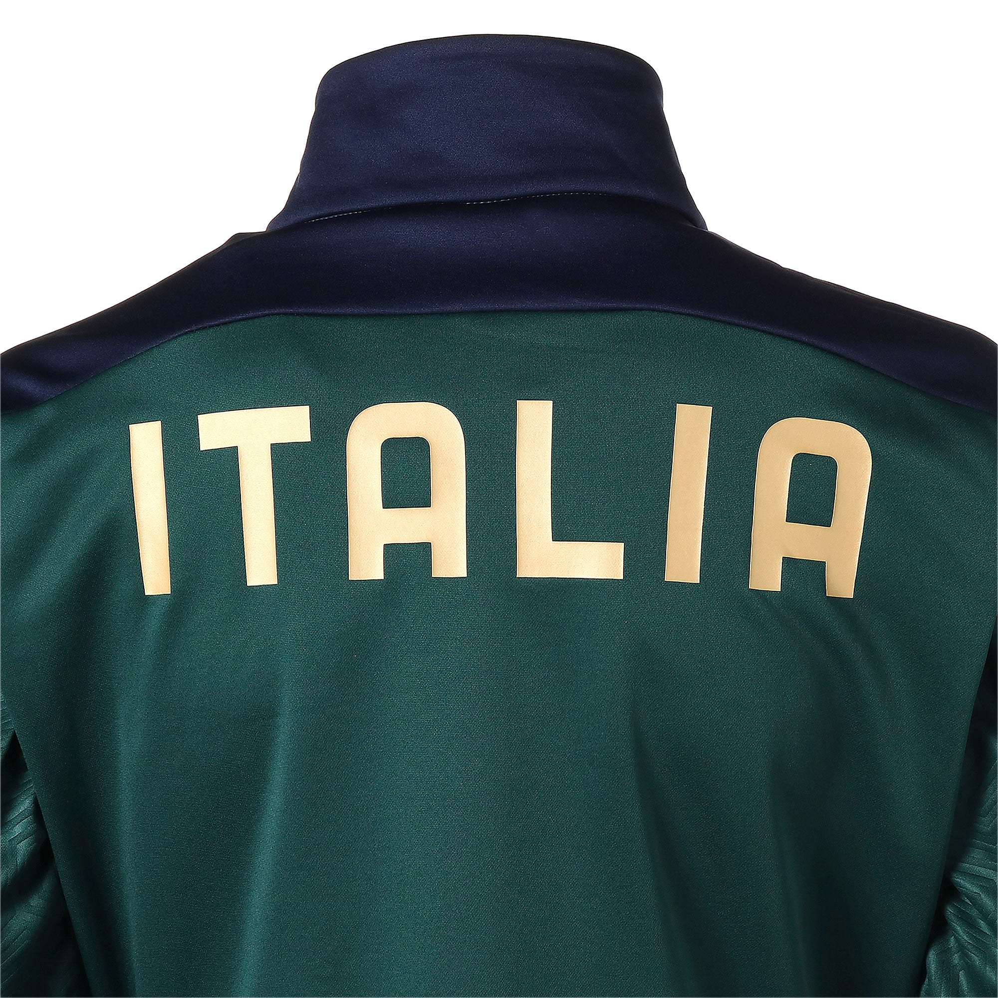 Thumbnail 9 of FIGC イタリア トレーニング フリース, Ponderosa Pine-Peacoat, medium-JPN