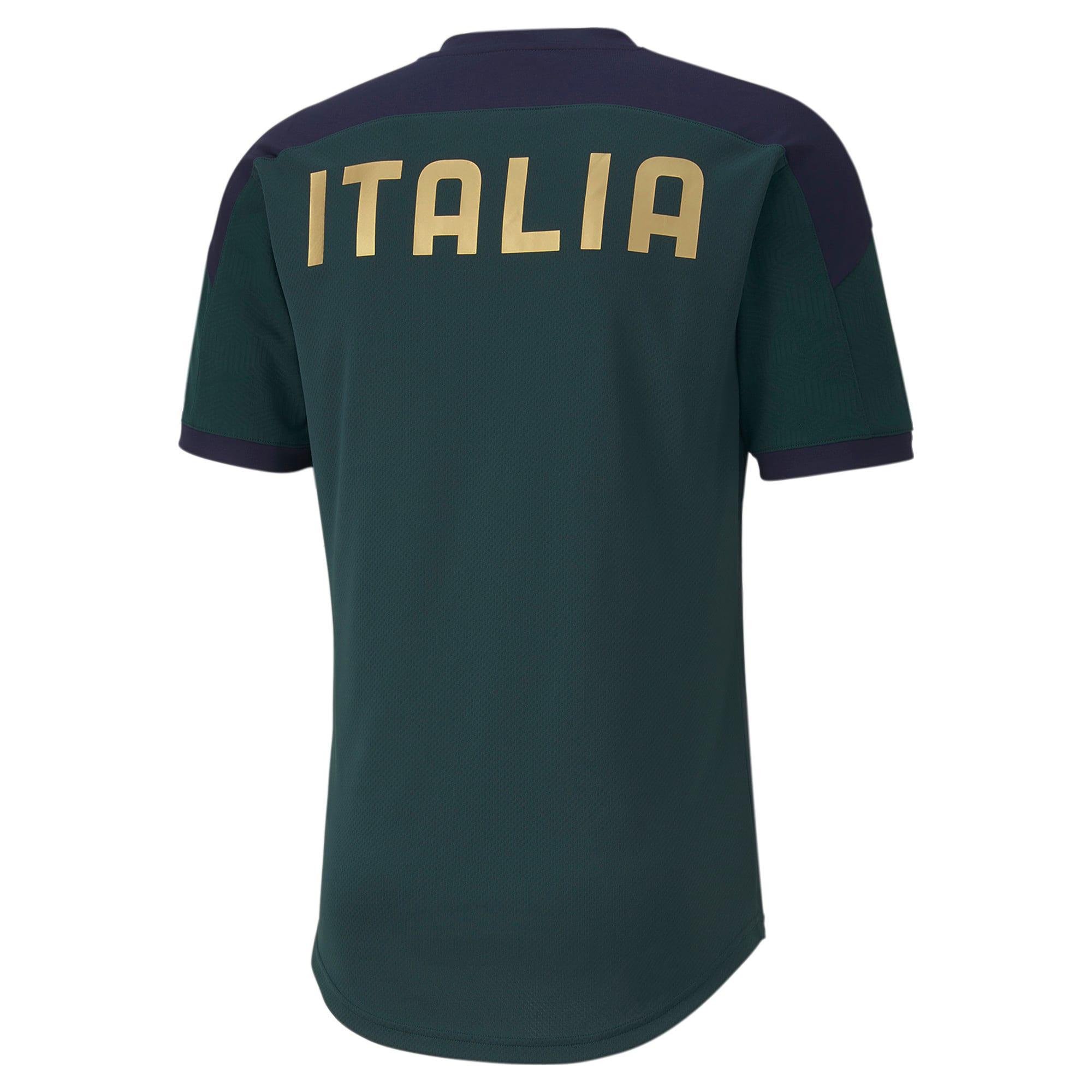 Thumbnail 3 of FIGC イタリア トレーニング シャツ, Ponderosa Pine-Peacoat, medium-JPN