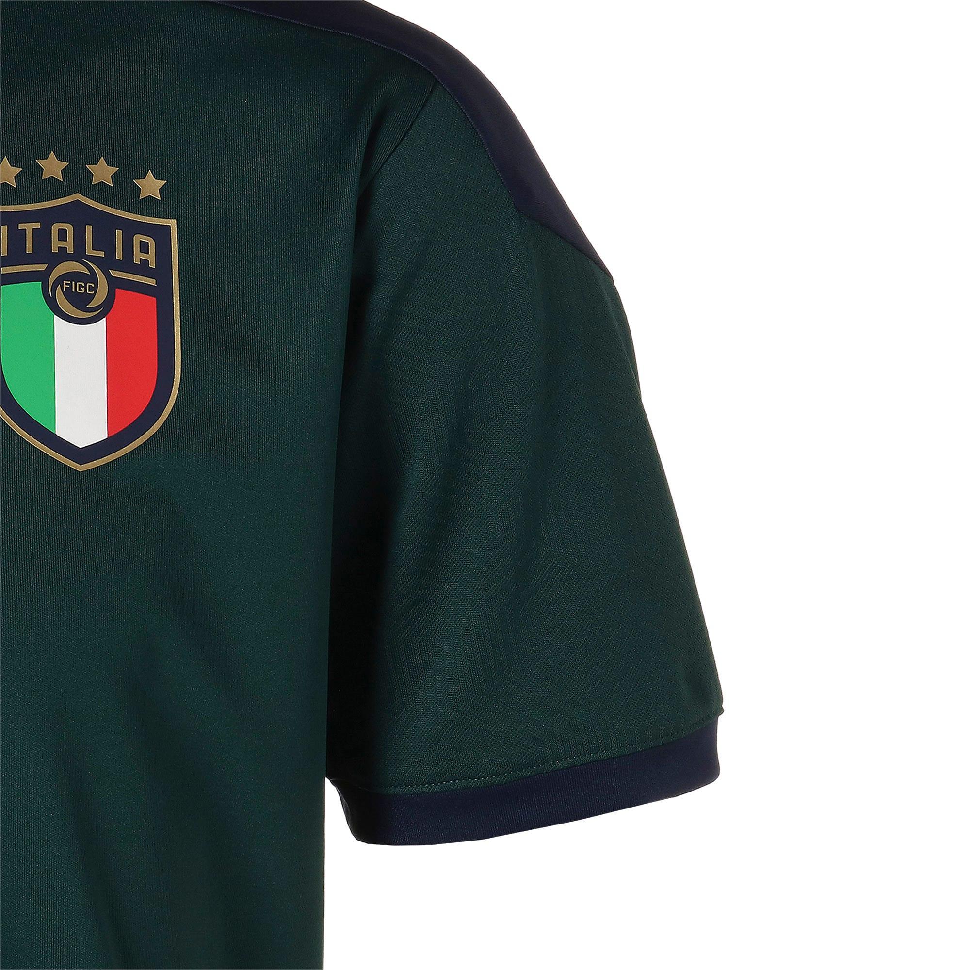 Thumbnail 5 of FIGC イタリア トレーニング シャツ, Ponderosa Pine-Peacoat, medium-JPN