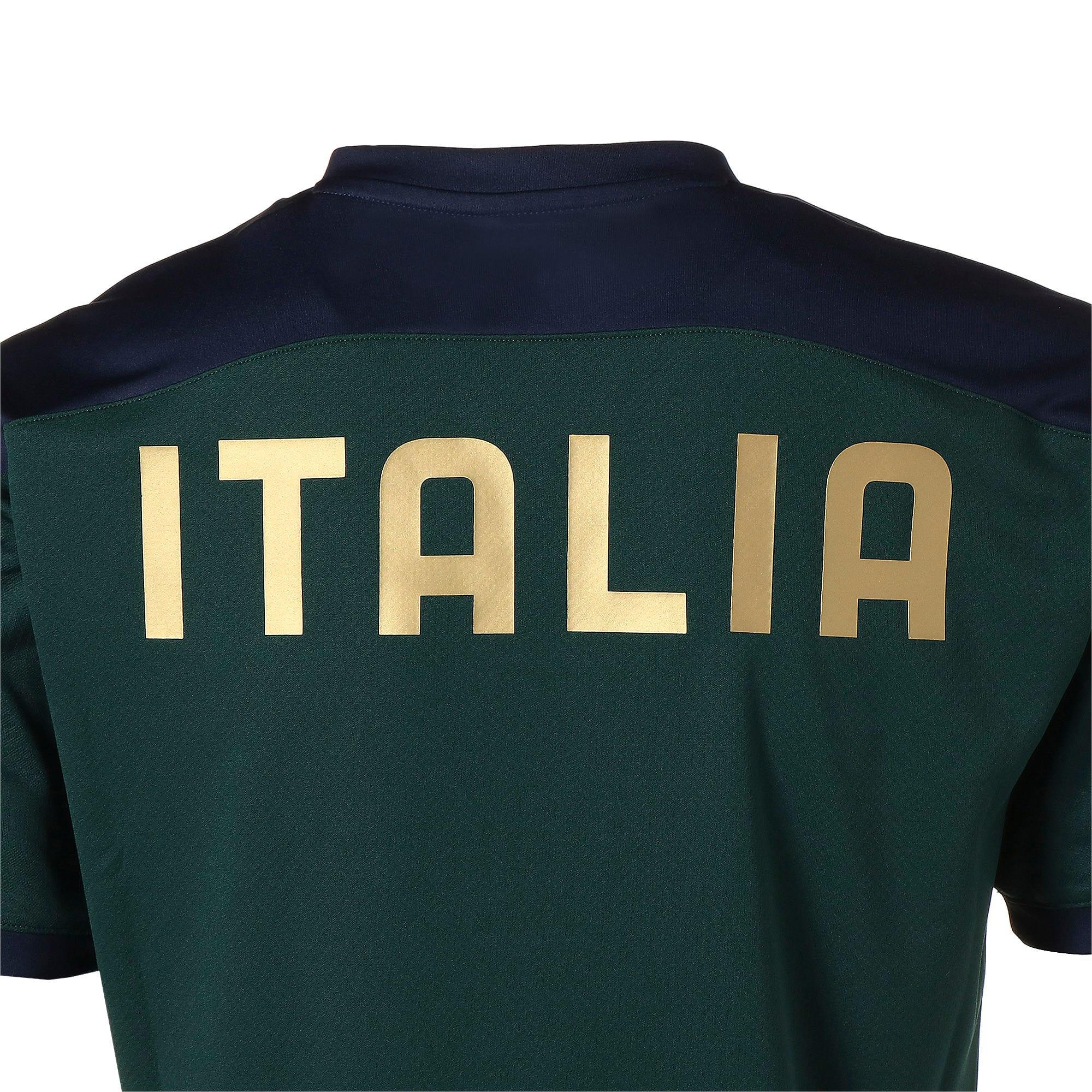 Thumbnail 8 of FIGC イタリア トレーニング シャツ, Ponderosa Pine-Peacoat, medium-JPN