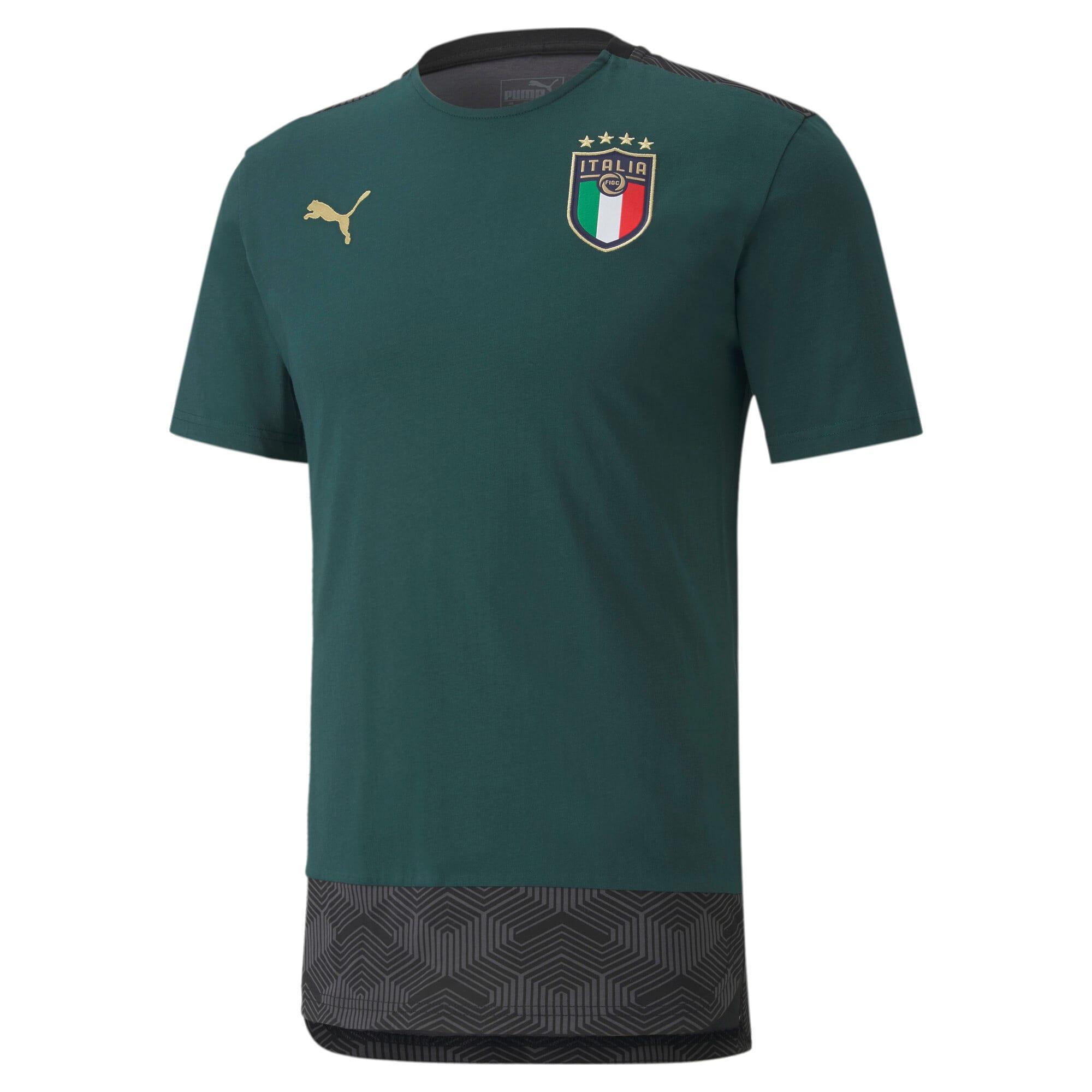 Thumbnail 1 of FIGC イタリア カジュアル Tシャツ 半袖, Ponderosa Pine-Peacoat, medium-JPN