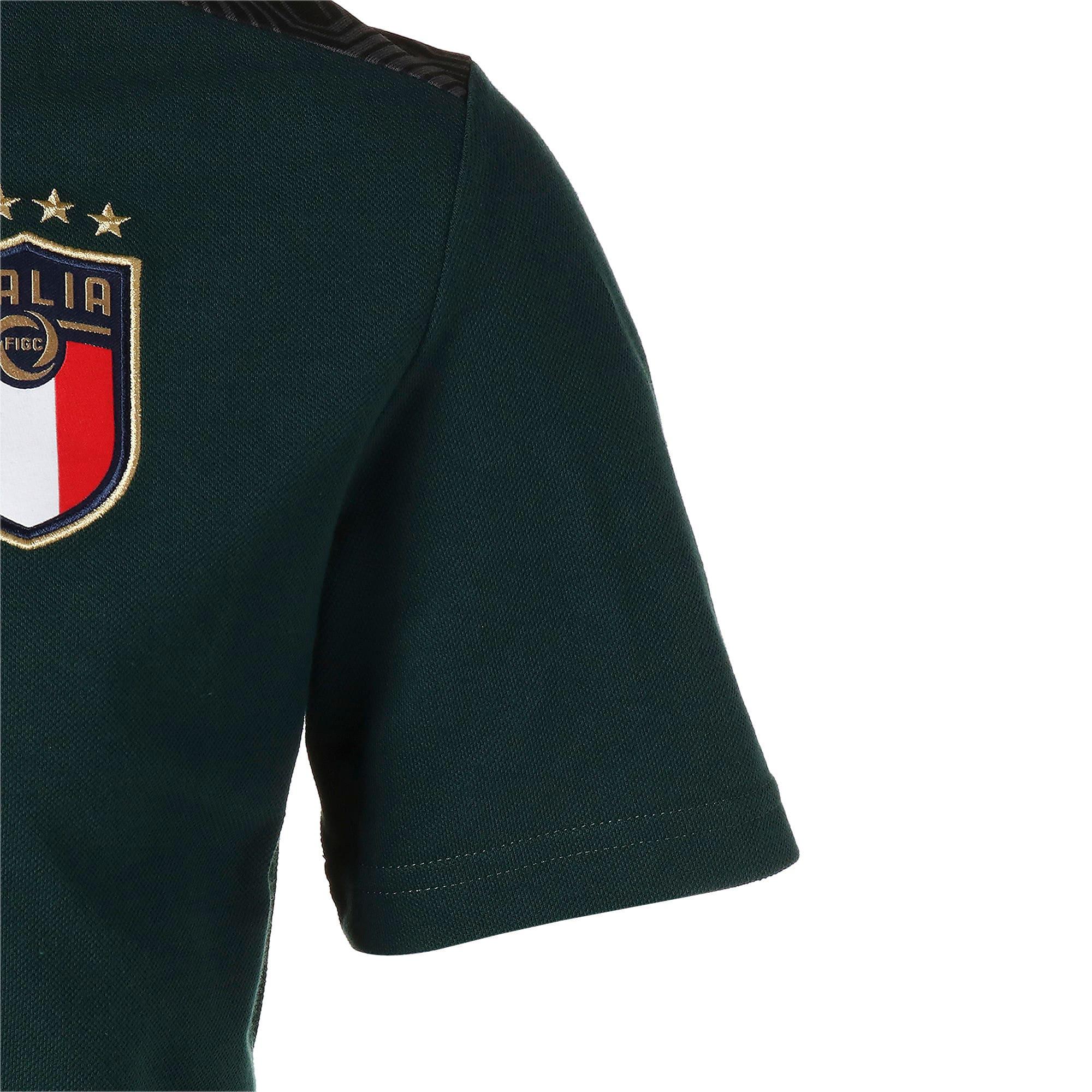Thumbnail 5 of FIGC イタリア カジュアル ポロシャツ 半袖, Ponderosa Pine-Peacoat, medium-JPN