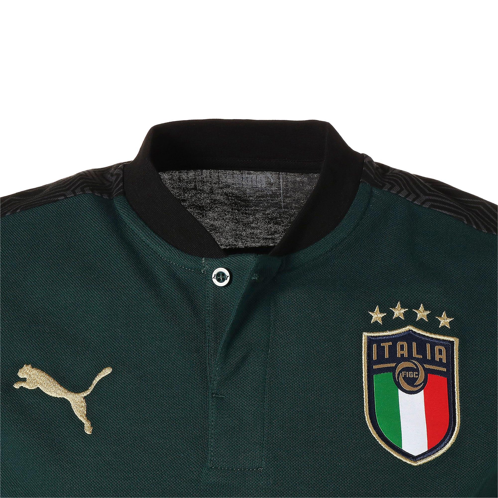 Thumbnail 7 of FIGC イタリア カジュアル ポロシャツ 半袖, Ponderosa Pine-Peacoat, medium-JPN