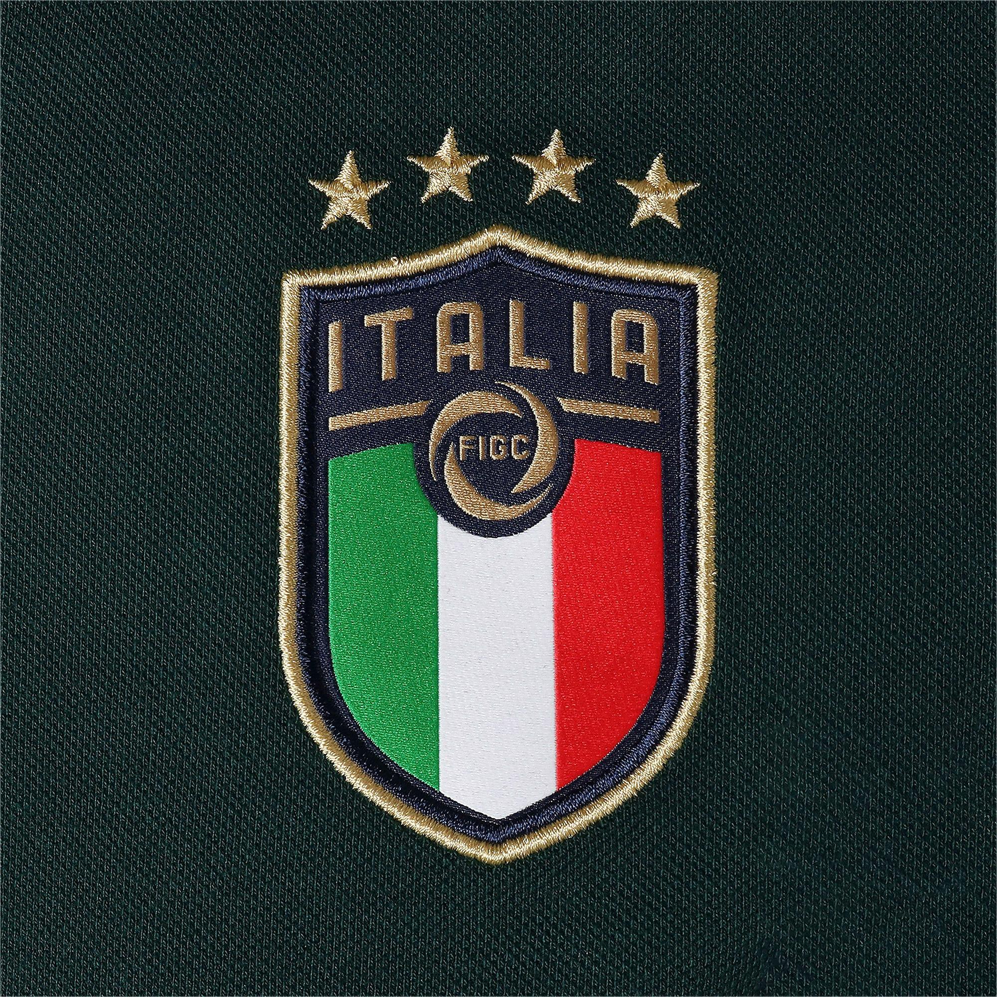 Thumbnail 8 of FIGC イタリア カジュアル ポロシャツ 半袖, Ponderosa Pine-Peacoat, medium-JPN
