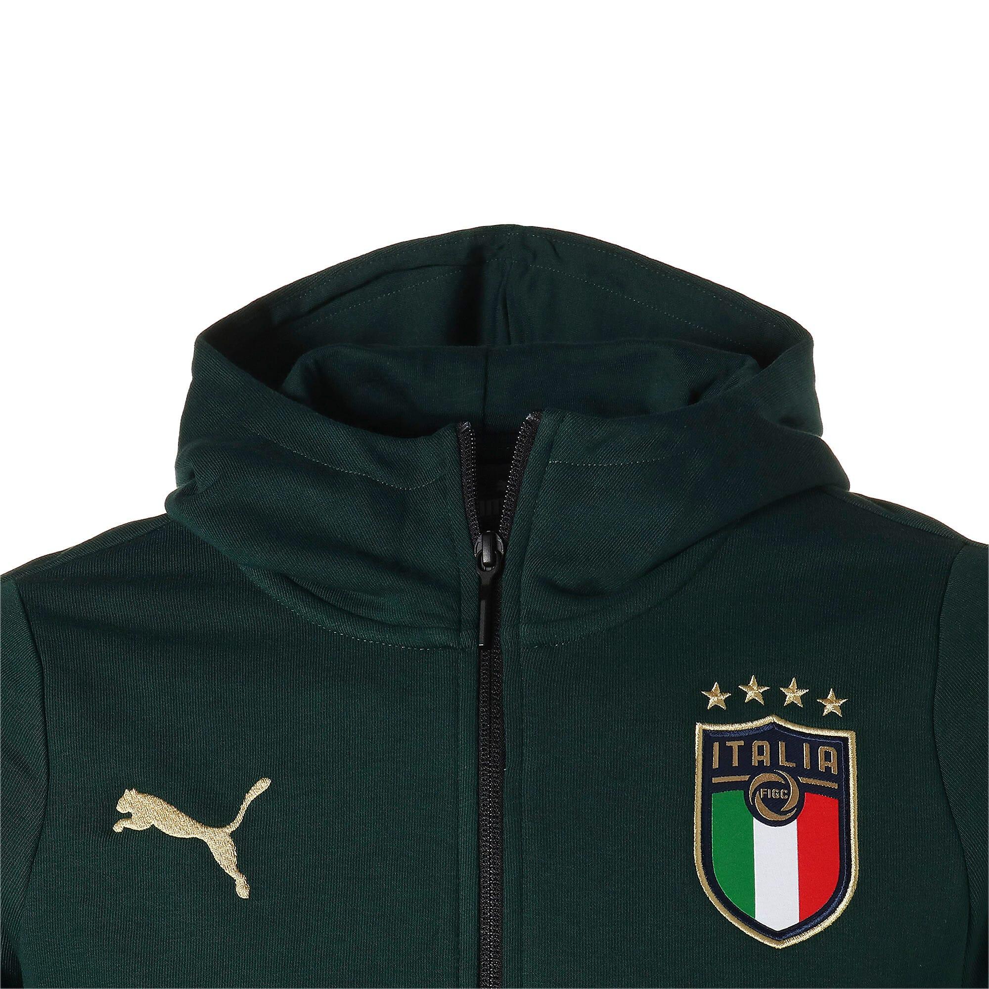 Thumbnail 7 of FIGC イタリア カジュアル フーディー, Ponderosa Pine-Peacoat, medium-JPN