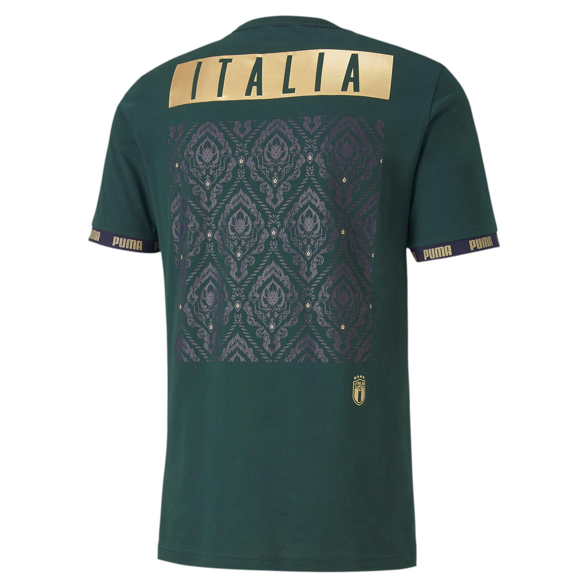 Thumbnail 3 of FIGC イタリア FTBL CULTURE Tシャツ 半袖, Ponderosa Pine, medium-JPN