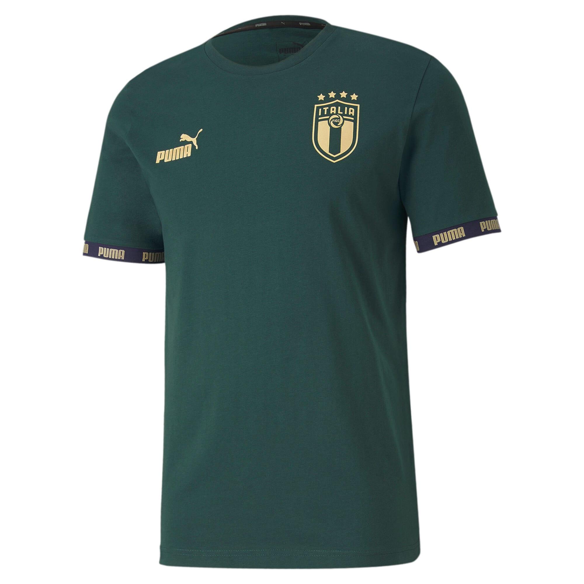 Thumbnail 1 of FIGC イタリア FTBL CULTURE Tシャツ 半袖, Ponderosa Pine, medium-JPN